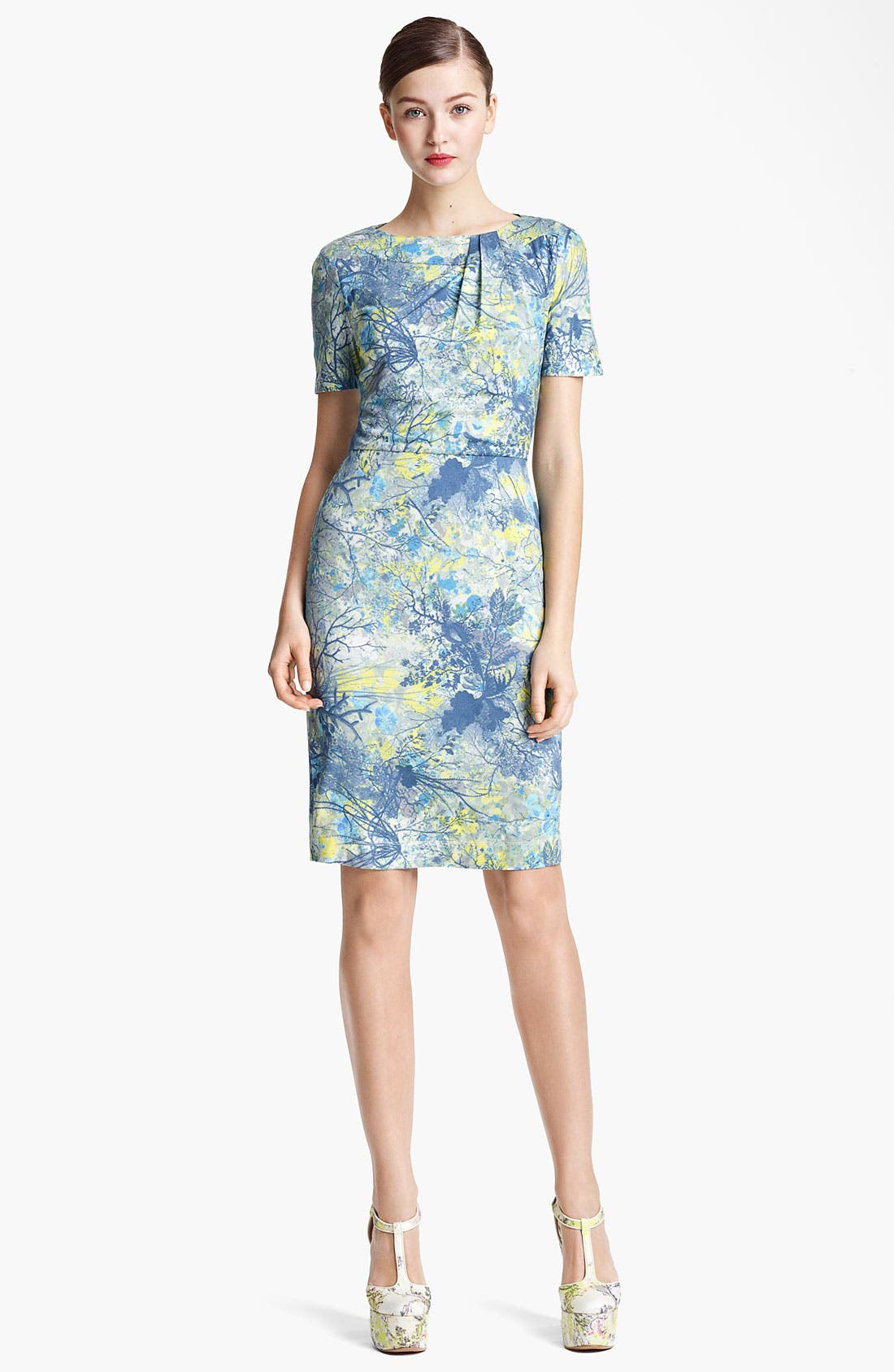 Alternate Image 1 Selected - Erdem 'Andrea - Sache Print' Dress