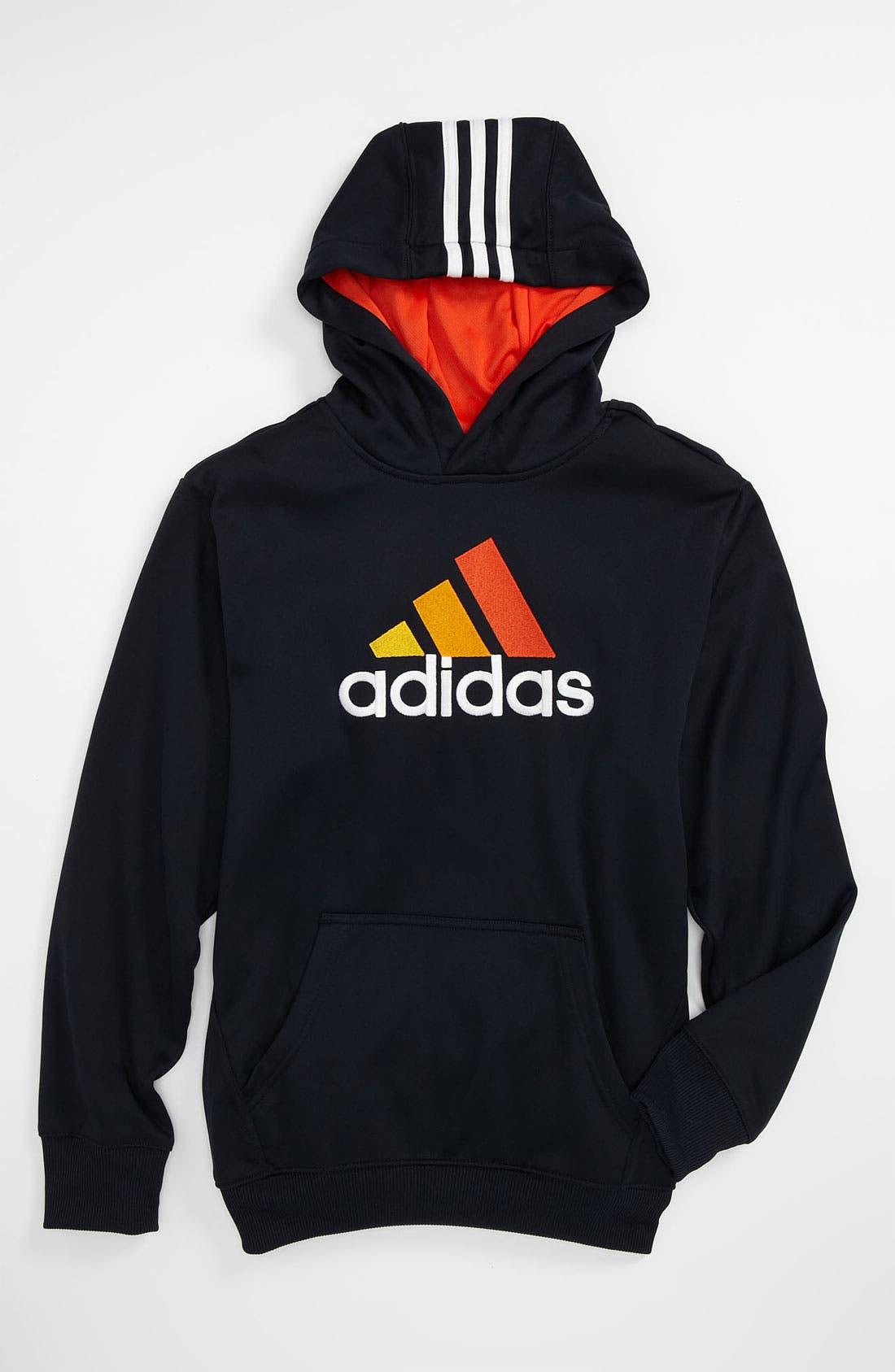 Alternate Image 1 Selected - adidas 'Shutout' Hoodie (Big Boys)