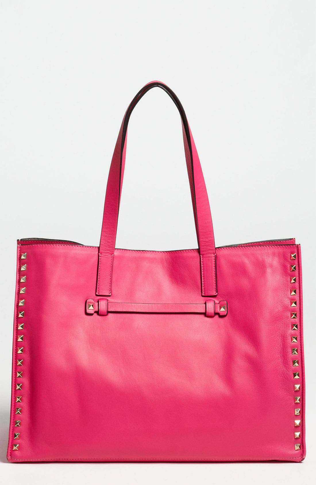 Main Image - Valentino 'Medium Rockstud' Leather Tote