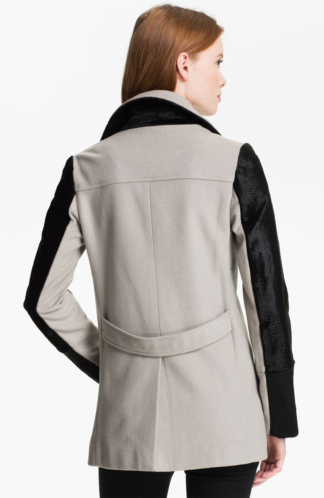 Alternate Image 2  - Rebecca Minkoff 'Jamison' Genuine Calf Hair Sleeve Jacket