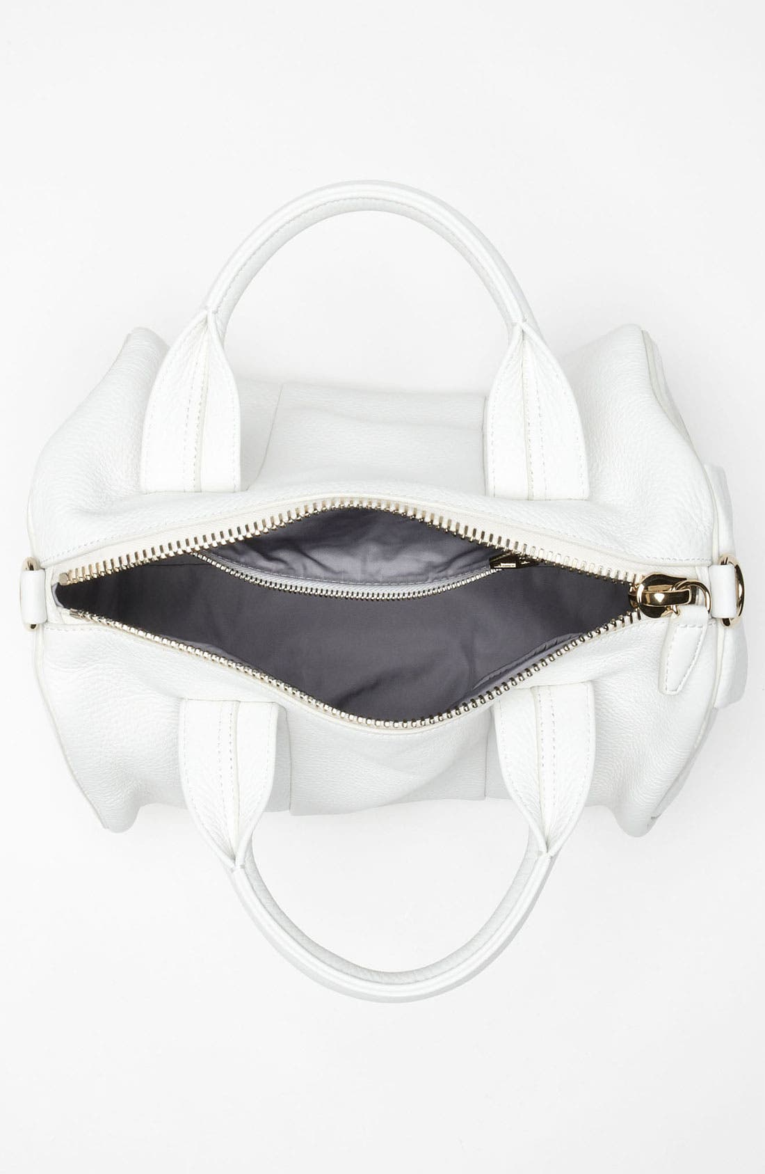 Alternate Image 3  - Alexander Wang 'Rocco - Pale Gold' Leather Satchel