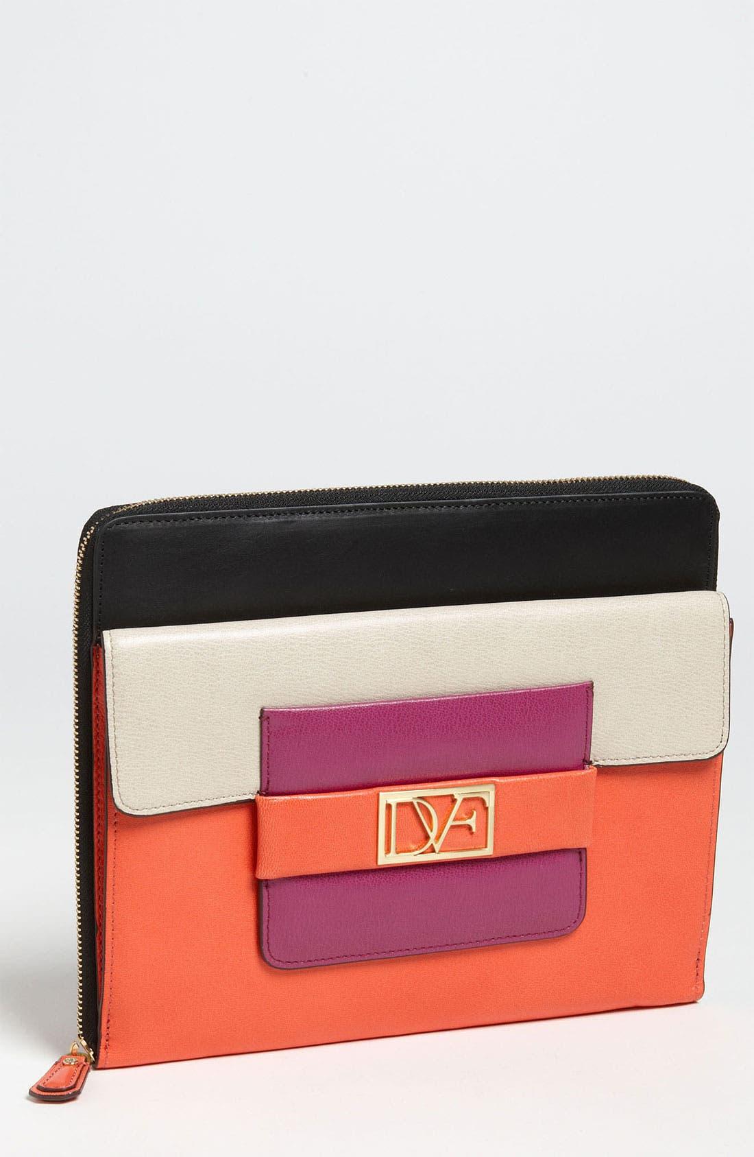 Alternate Image 1 Selected - Diane von Furstenberg 'Metro' iPad Case