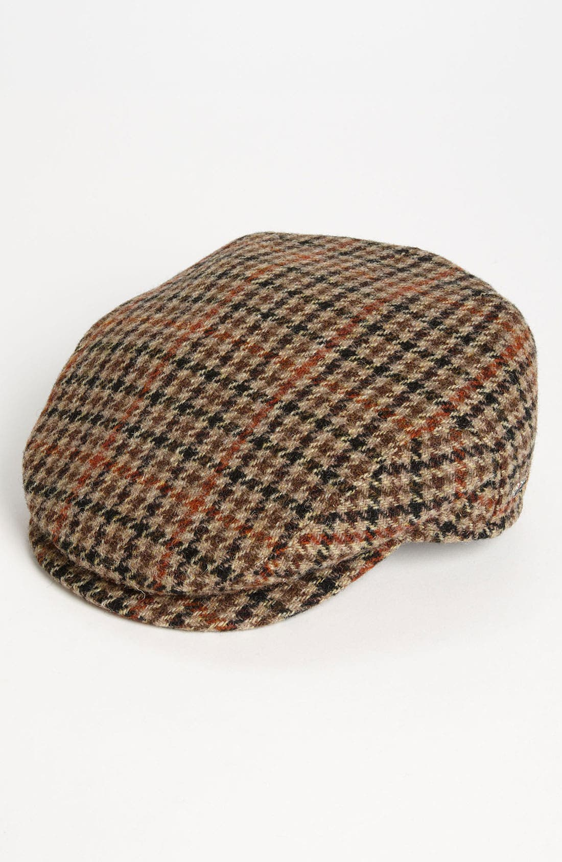 Main Image - Wigens Houndstooth Driving Cap