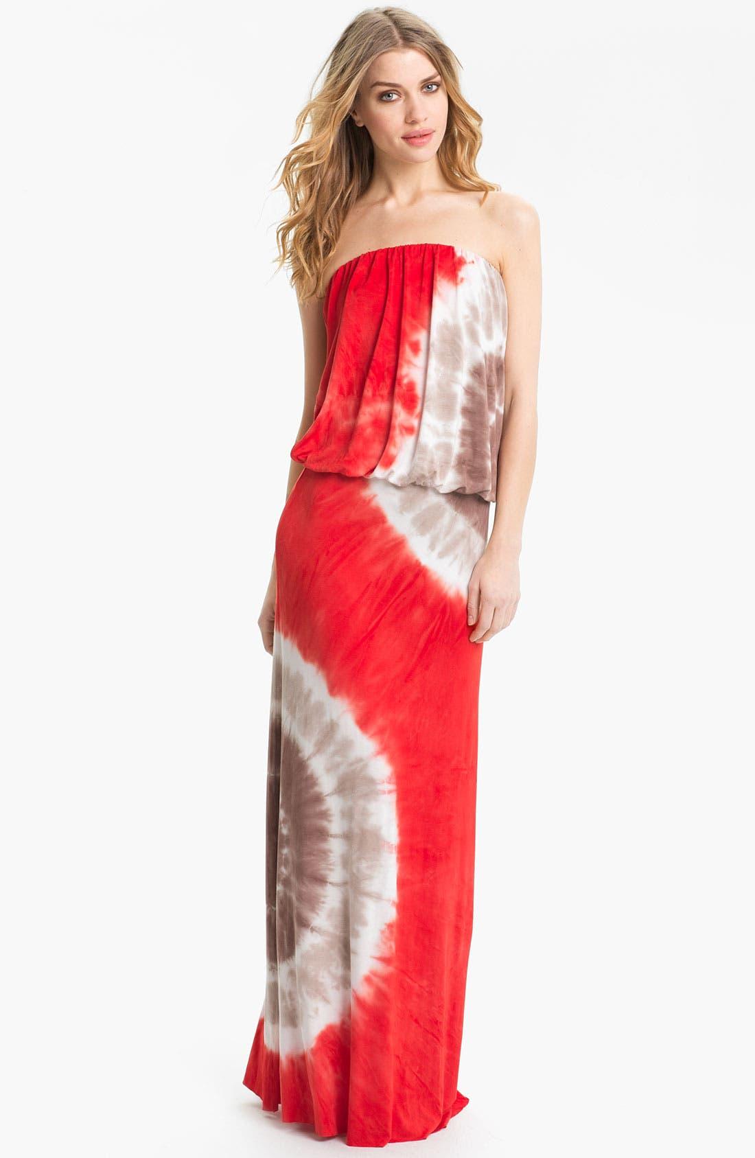 Main Image - Young, Fabulous & Broke 'Sydney' Strapless Maxi Dress