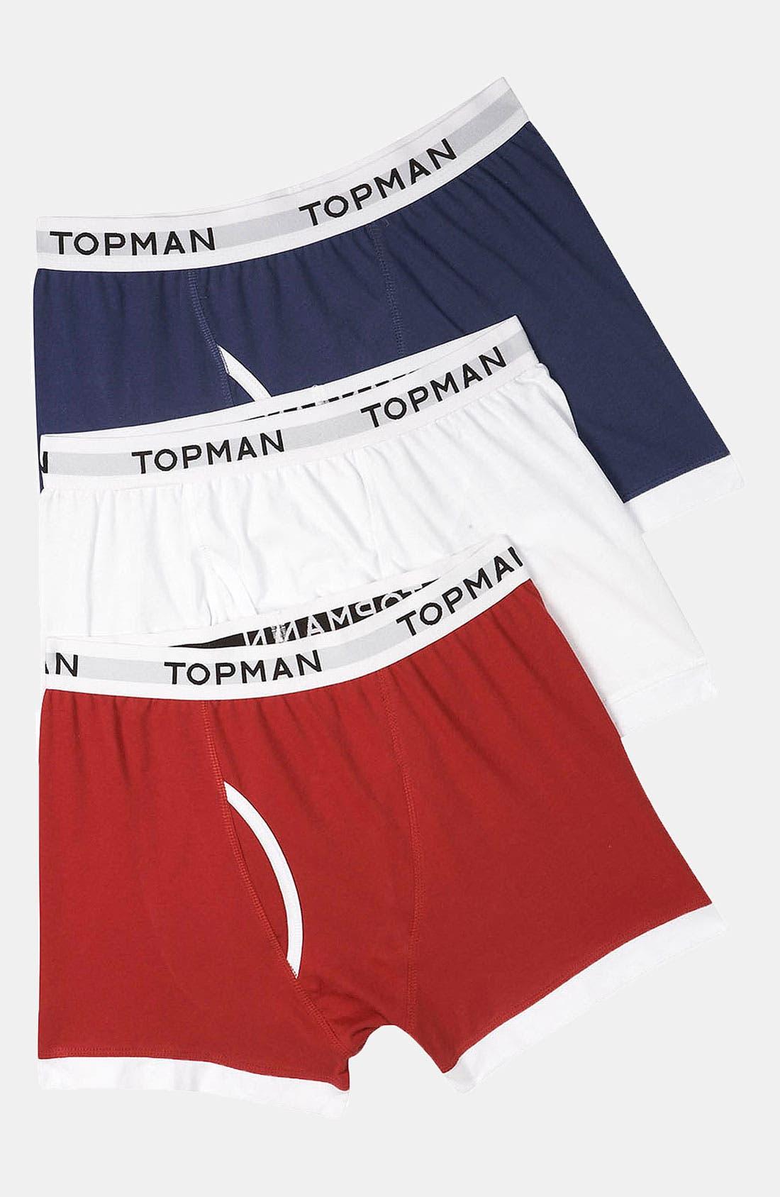 Main Image - Topman Boxer Briefs (3-Pack)