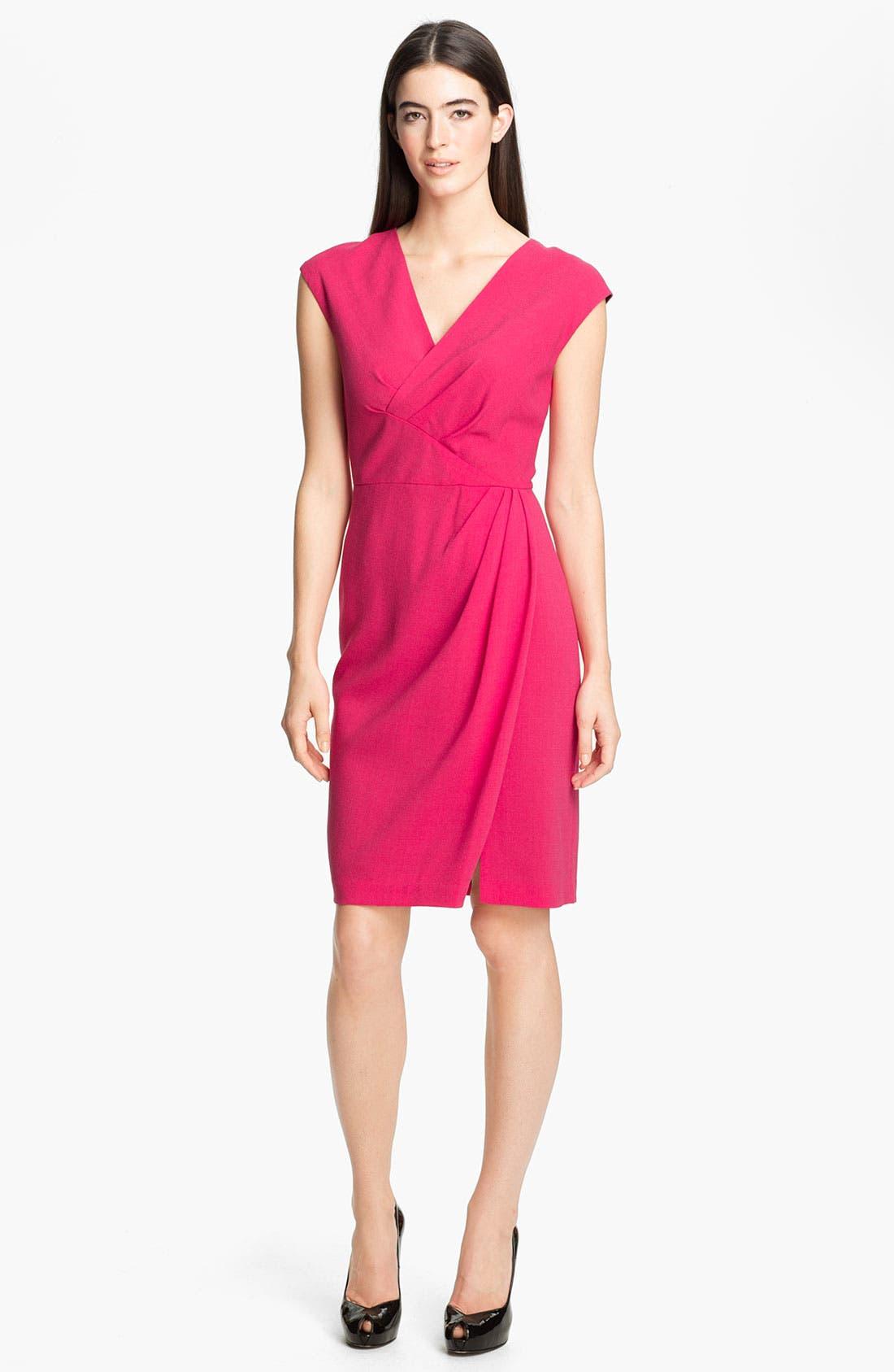 Alternate Image 1 Selected - Lafayette 148 New York 'Elsa - Astute Crepe' Dress
