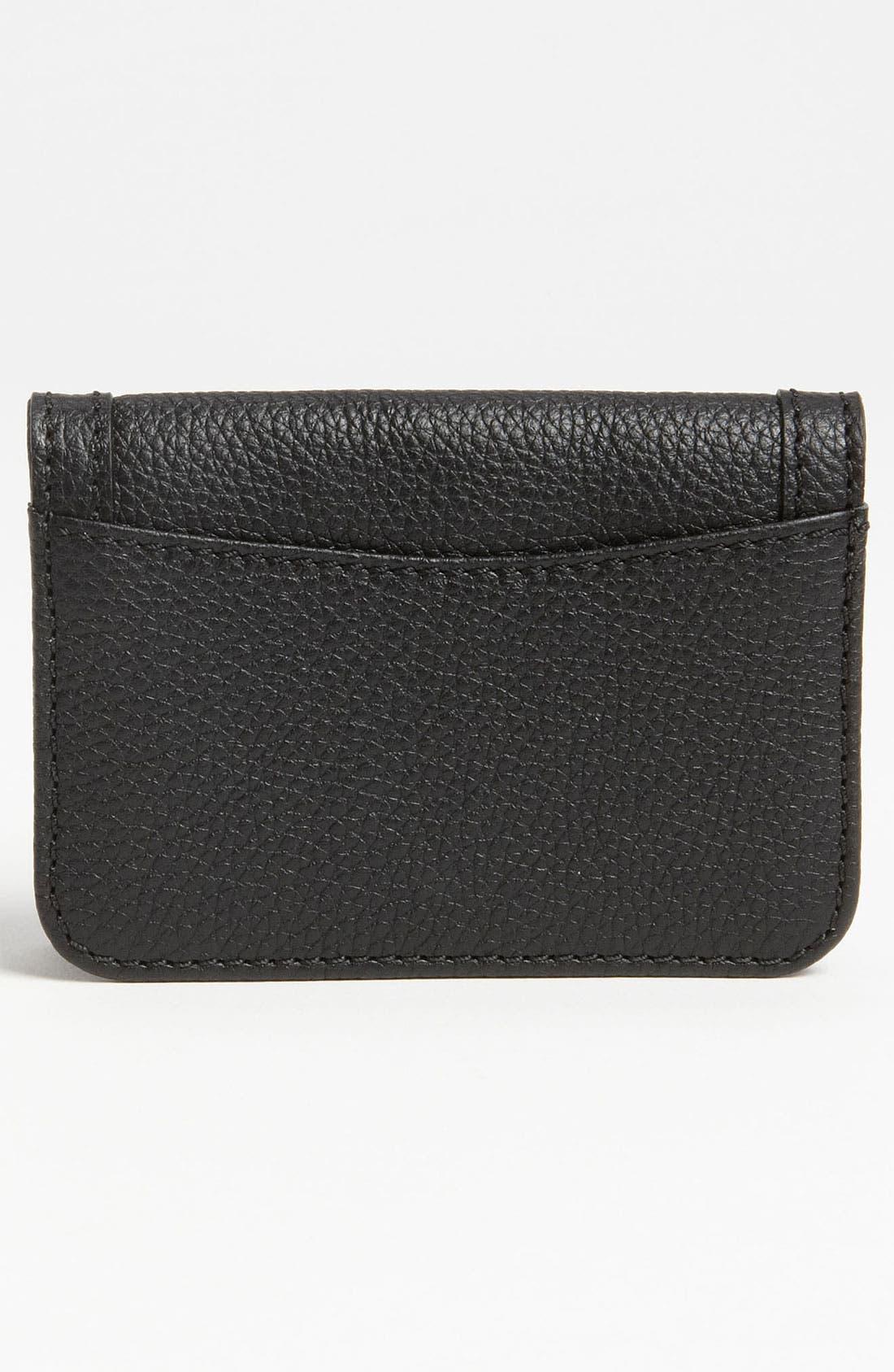 Alternate Image 4  - Chloé 'Paraty' Leather Card Holder