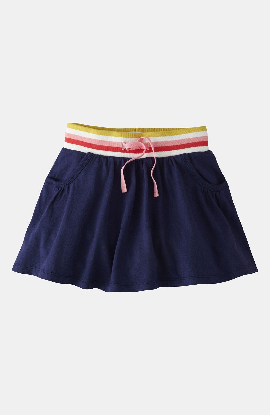 Alternate Image 1 Selected - Mini Boden Jersey Scooter Skirt (Little Girls & Big Girls)