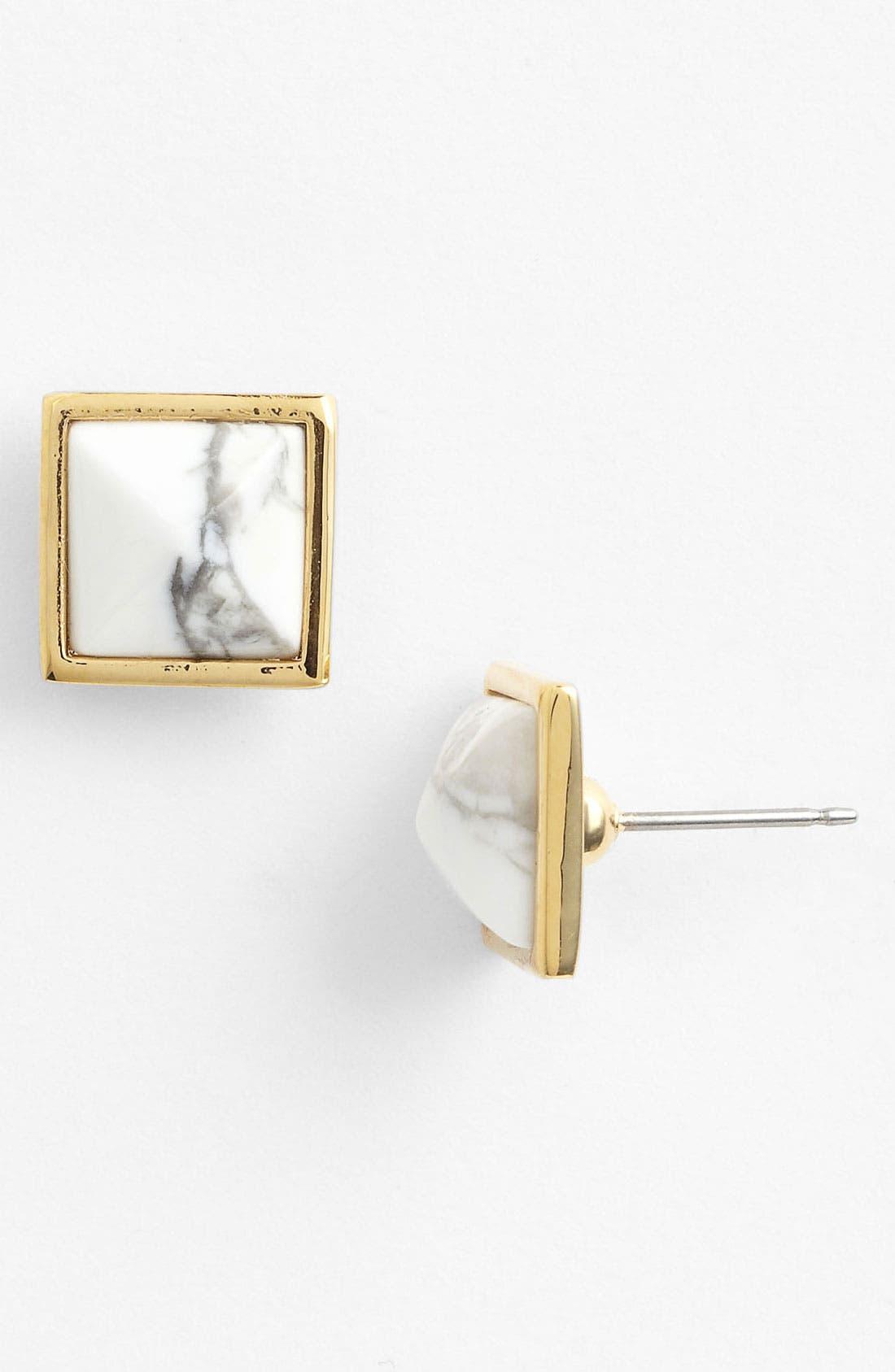 Alternate Image 1 Selected - Vince Camuto 'Pyramid Rocks' Stud Earrings