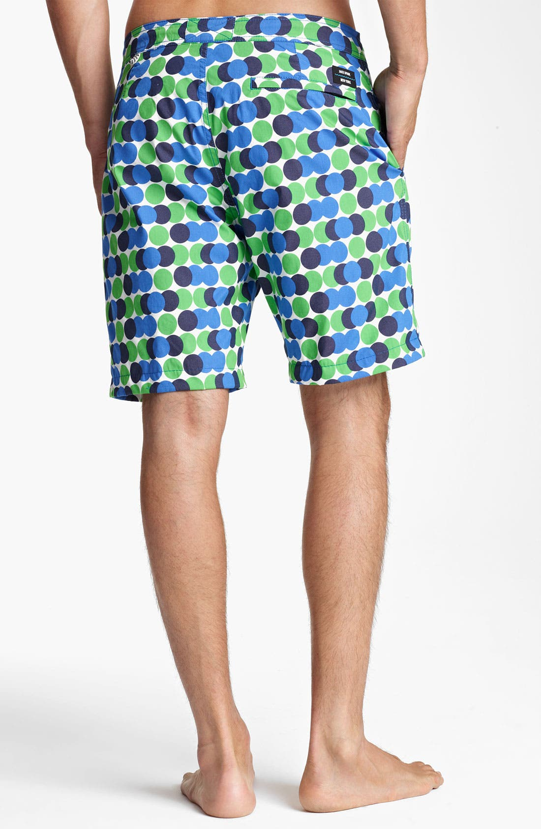 Alternate Image 2  - Jack Spade 'Decker' Dot Board Shorts