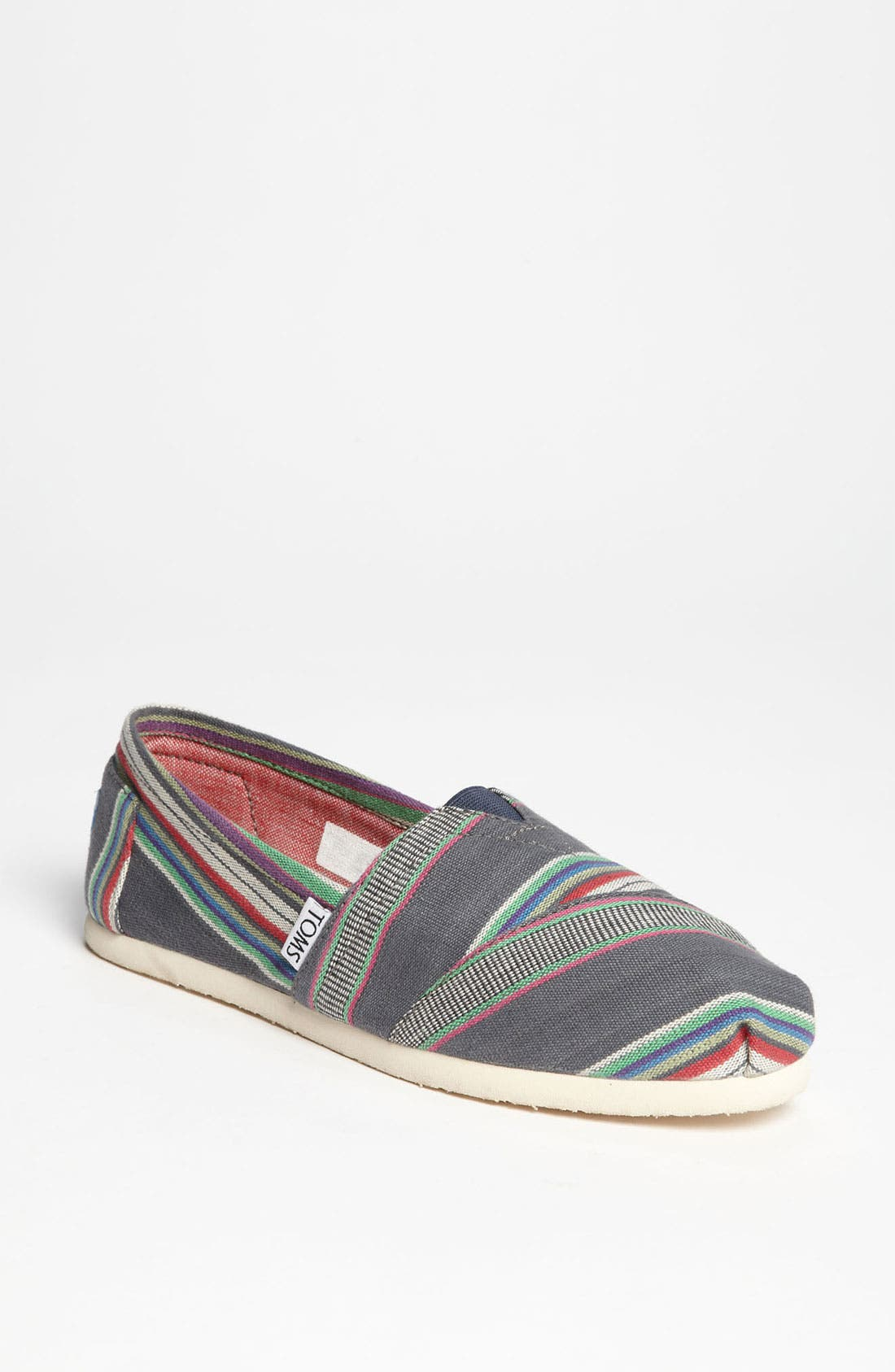 Alternate Image 1 Selected - TOMS 'Classic - Stripe' Slip-On (Women)