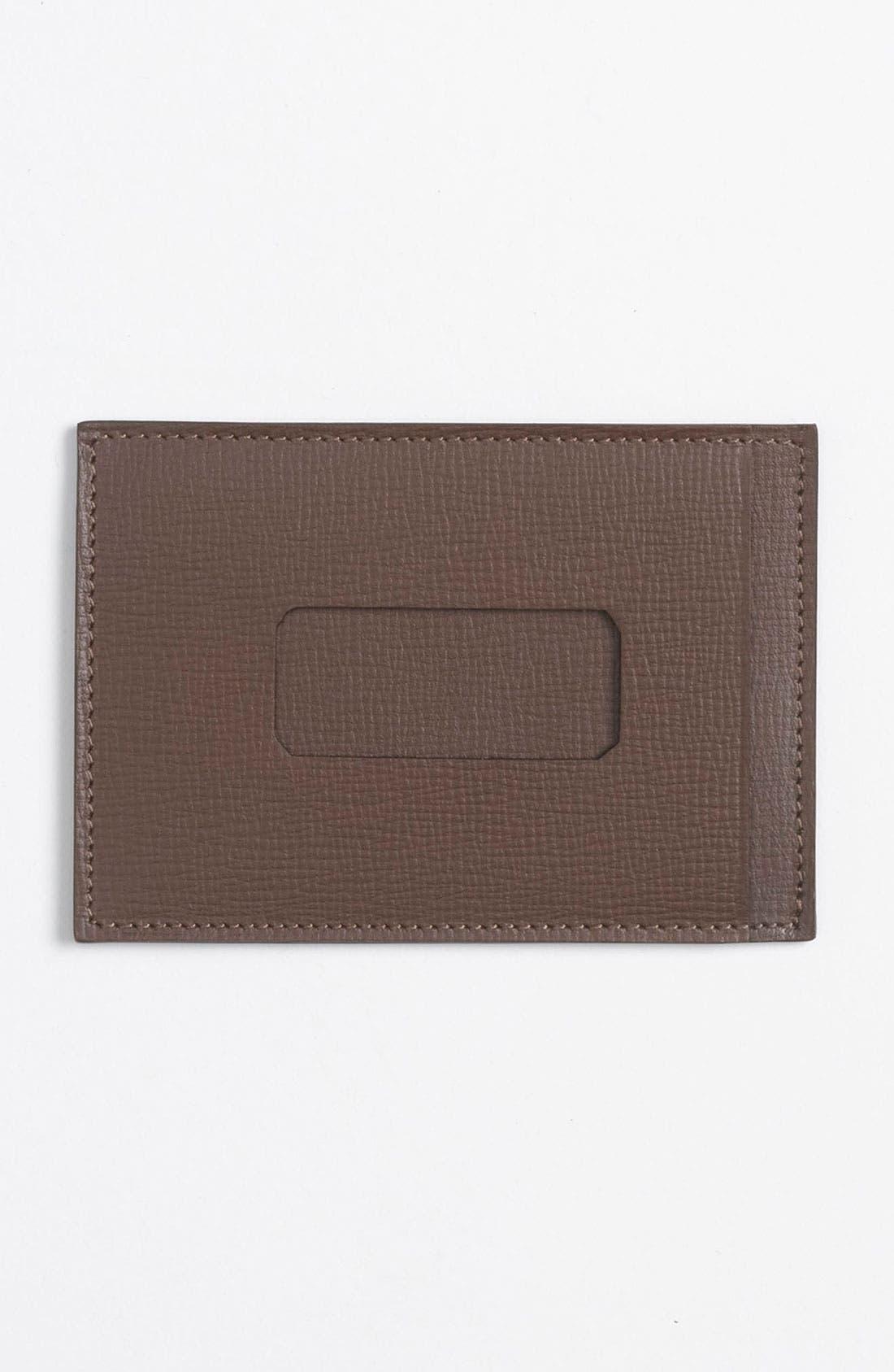 Alternate Image 2  - Bruno Magli Calfskin Card Holder