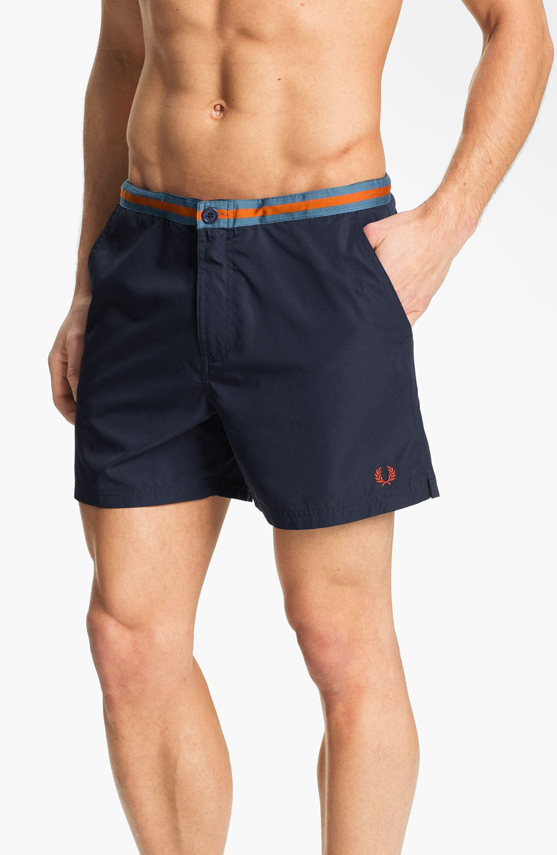 Alternate Image 1 Selected - Fred Perry Swim Shorts
