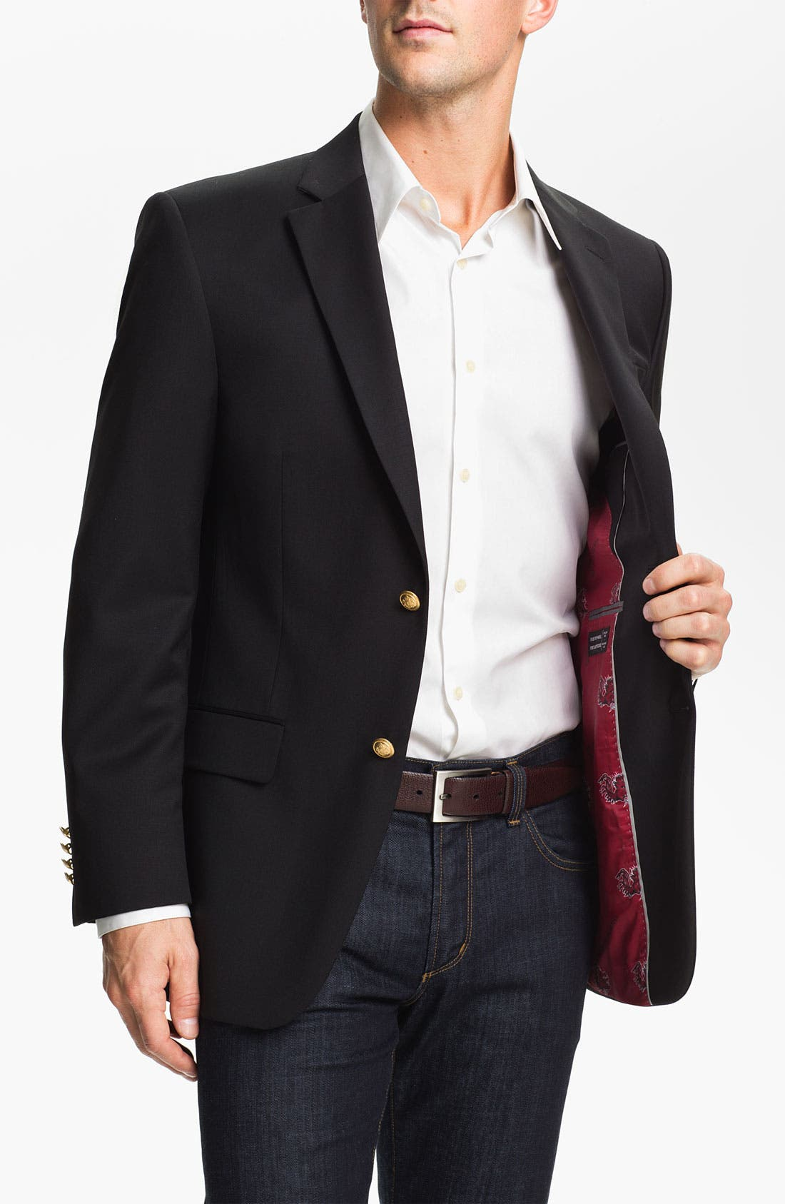 Alternate Image 1 Selected - S. Cohen 'South Carolina University' Blazer (Online Only)