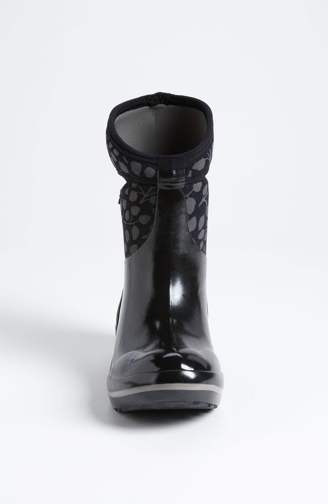 Alternate Image 3  - Bogs 'Plimsoll Mid Leaf' Rain Boot (Women)