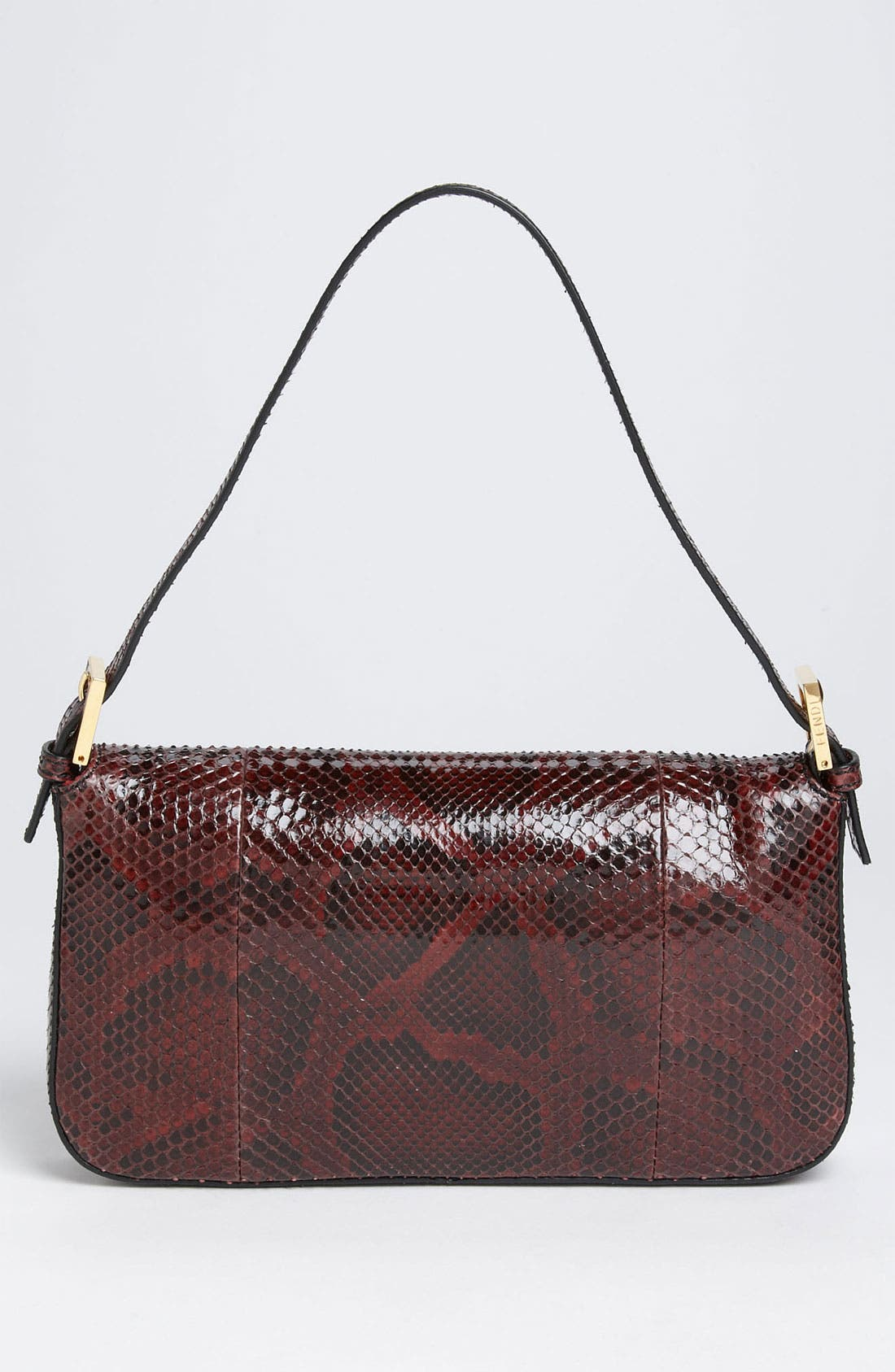 Alternate Image 4  - Fendi Genuine Python Baguette