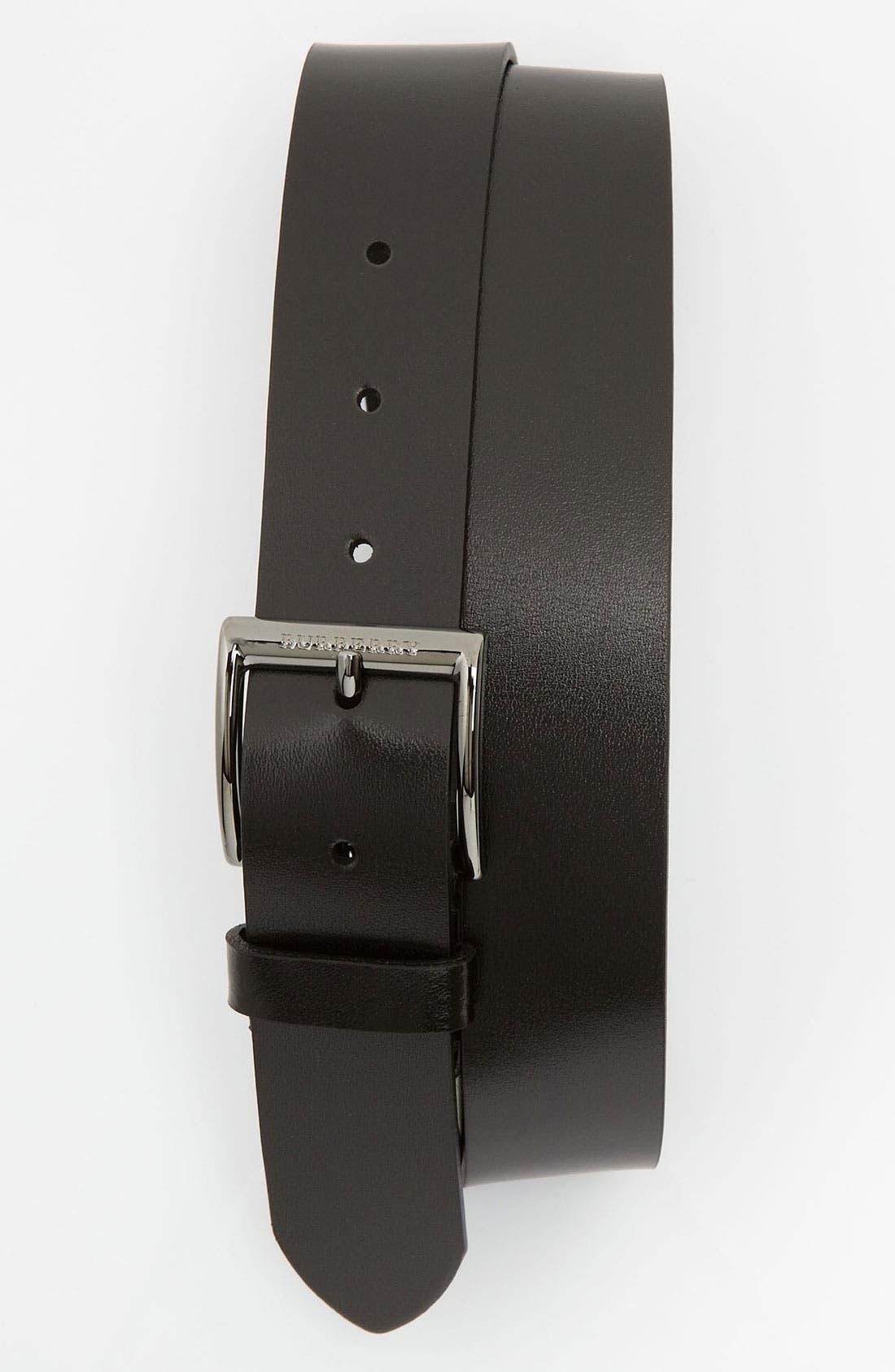 Main Image - Burberry 'Cleydon' Leather Belt