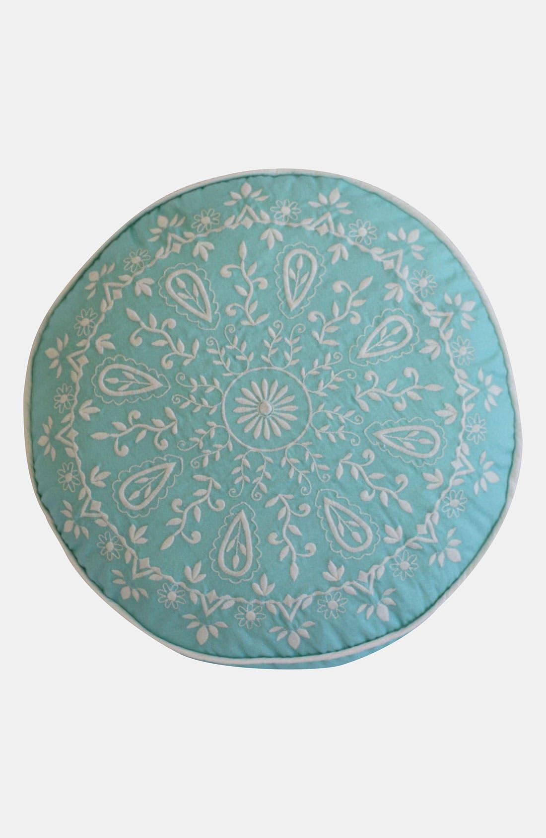 Alternate Image 1 Selected - Dena Home 'Breeze' Round Pillow