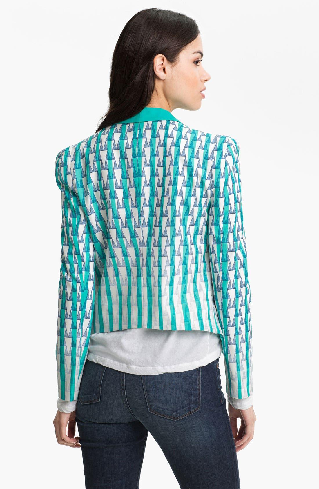 Alternate Image 2  - Rebecca Minkoff 'Becky' Silk Jacket