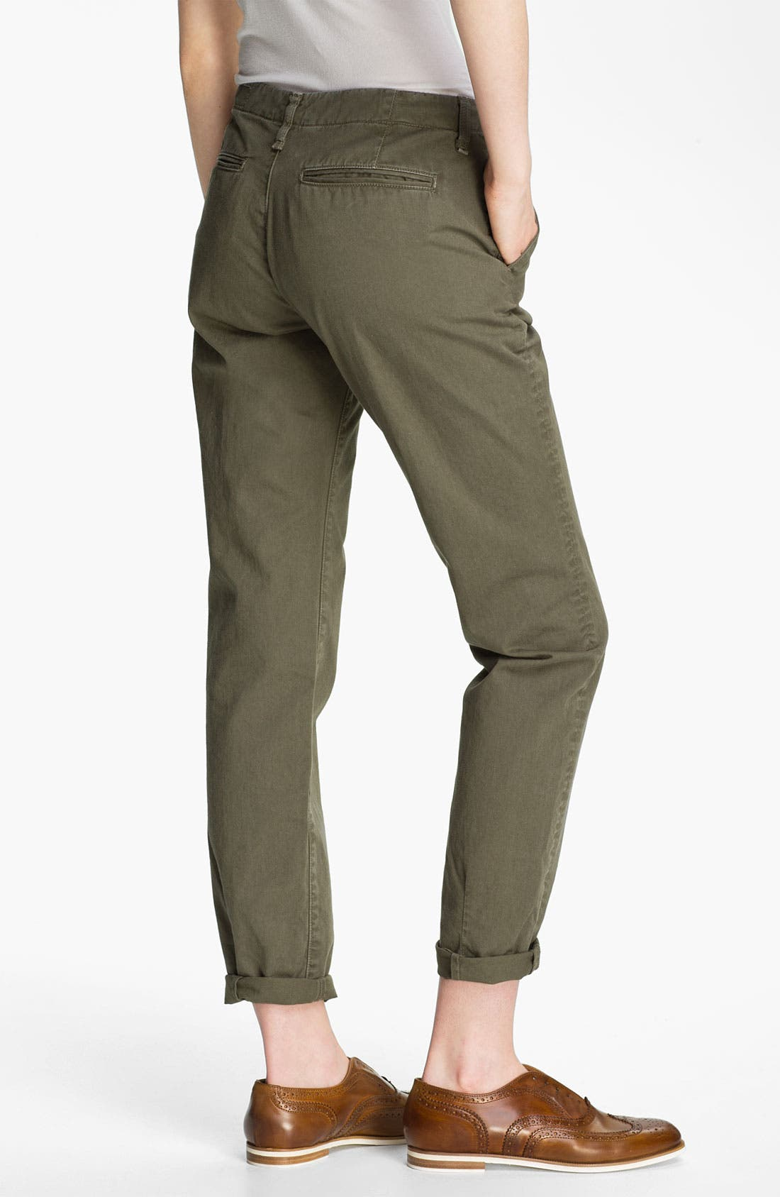 Alternate Image 2  - rag & bone/JEAN 'Portobello' Twill Pants