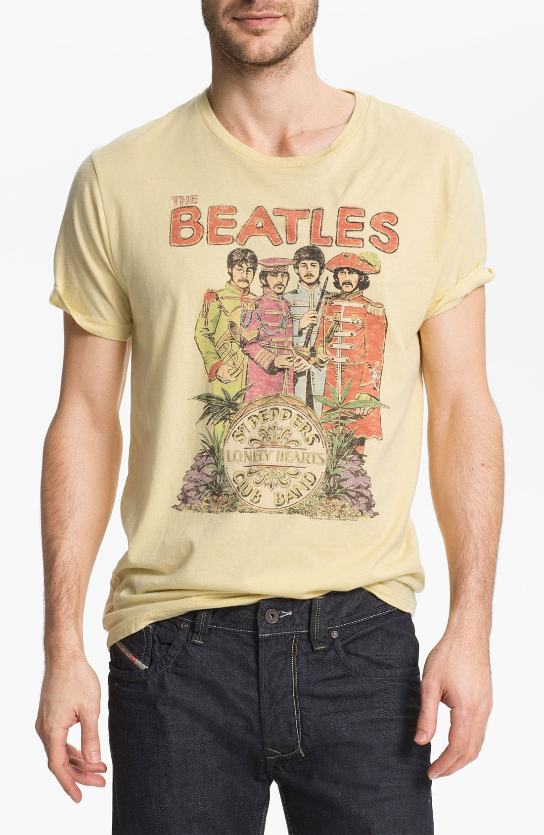 Alternate Image 1 Selected - Junk Food 'The Beatles' Graphic T-shirt