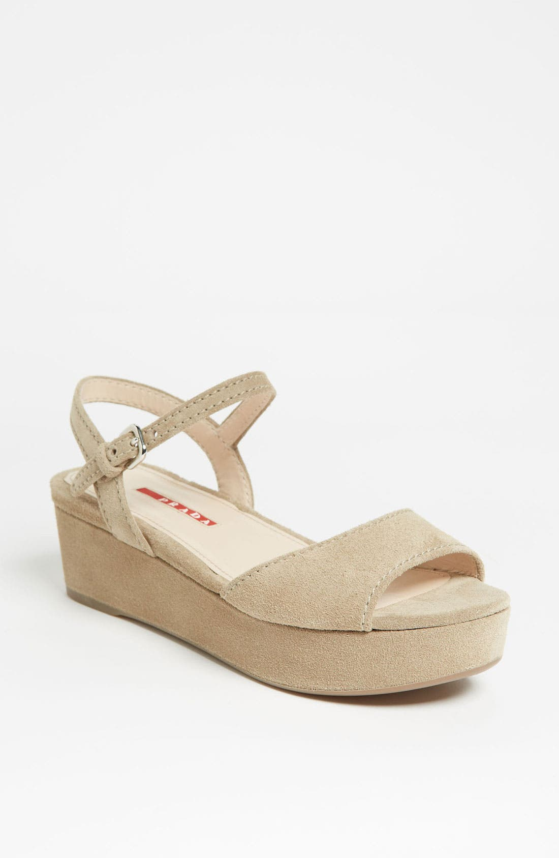 Alternate Image 1 Selected - Prada Platform Sandal