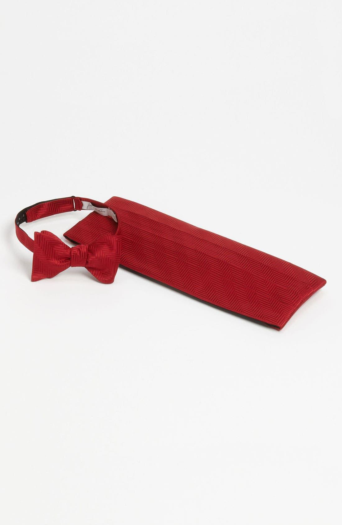 Alternate Image 1 Selected - John W. Nordstrom® Cummerbund & Bow Tie