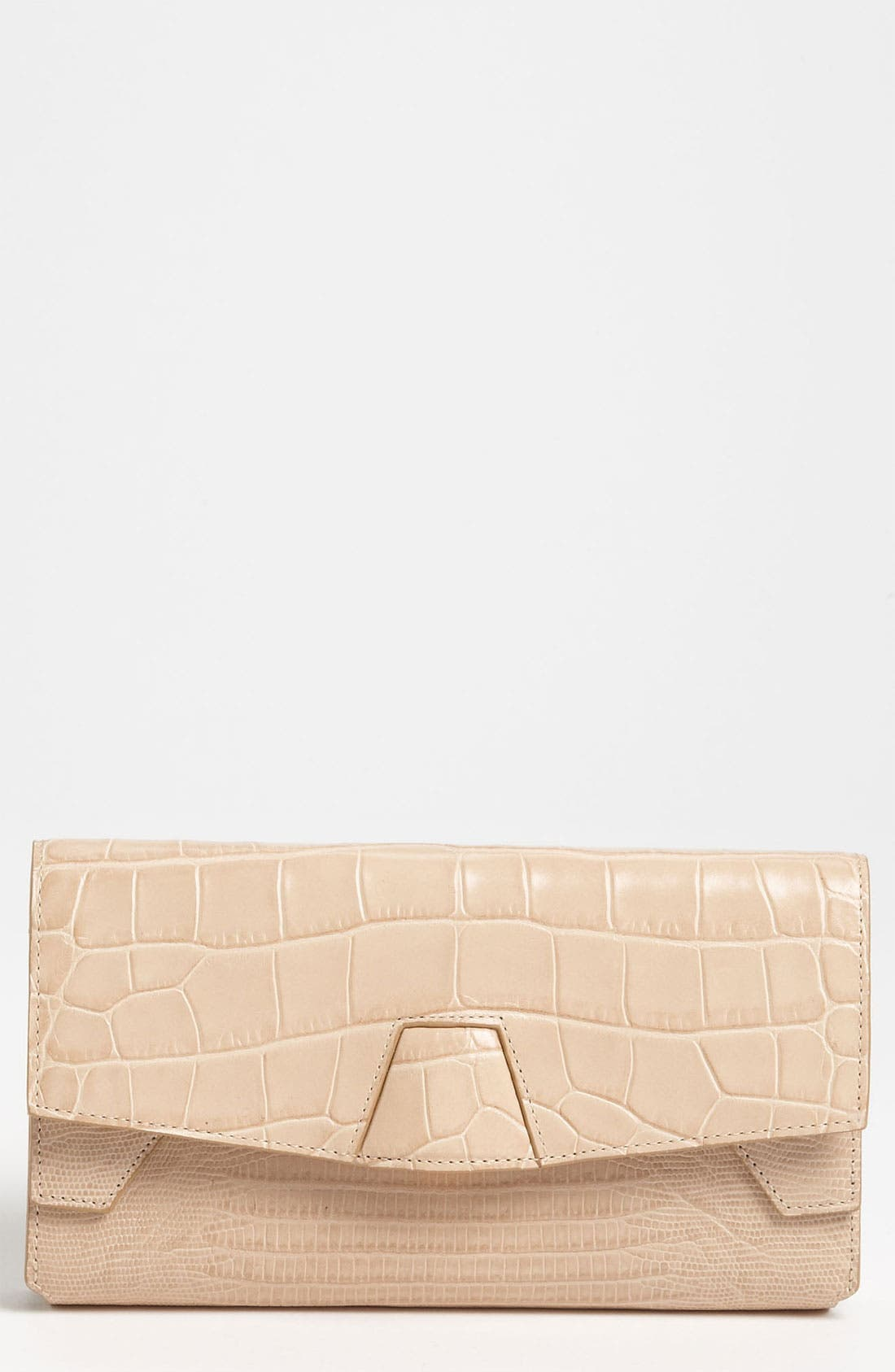 Alternate Image 1 Selected - Alexander Wang Trifold Embossed Leather Clutch