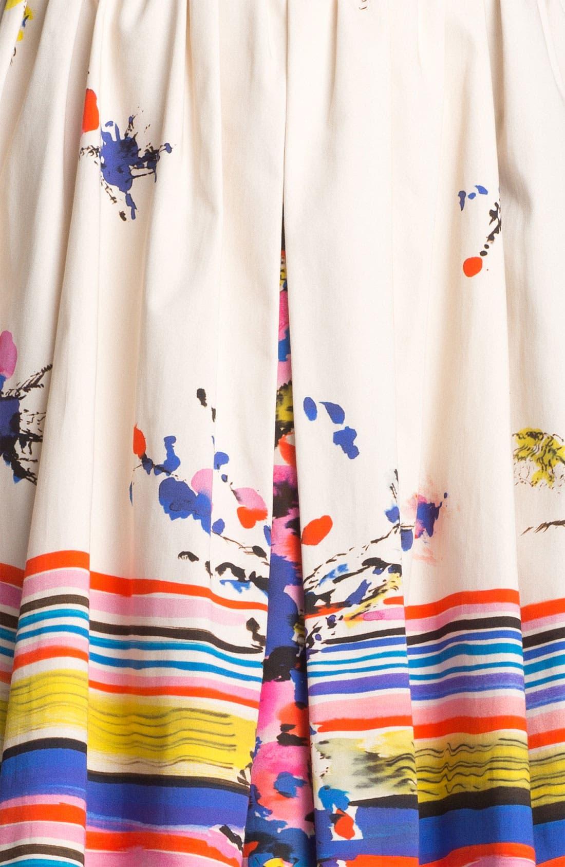 Alternate Image 4  - RED Valentino Bouquet Print Skirt