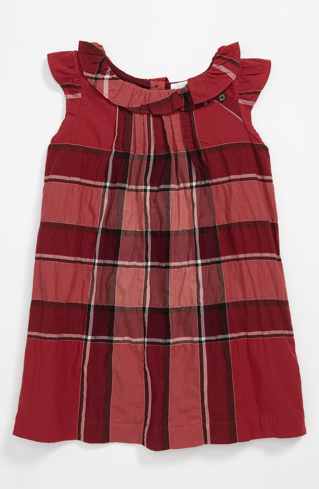 Main Image - Burberry 'Olly' Check Print Dress (Toddler)