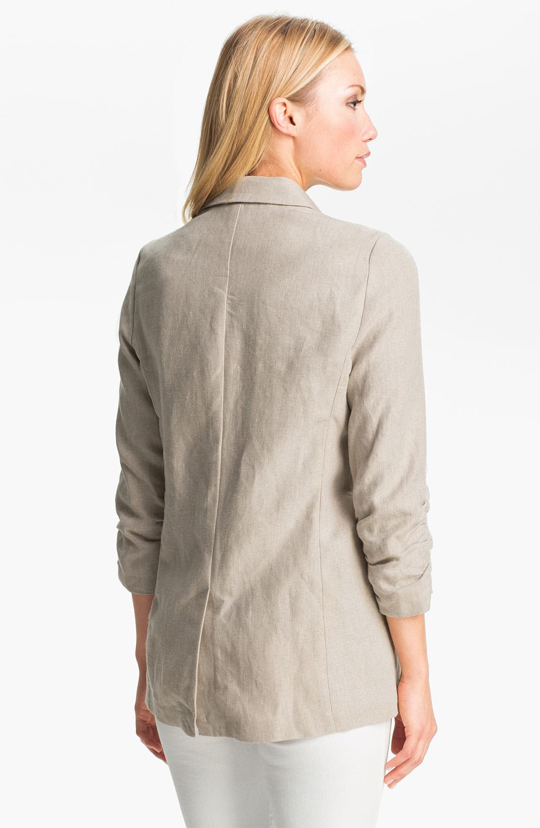 Alternate Image 2  - MICHAEL Michael Kors Shirred Sleeve Jacket