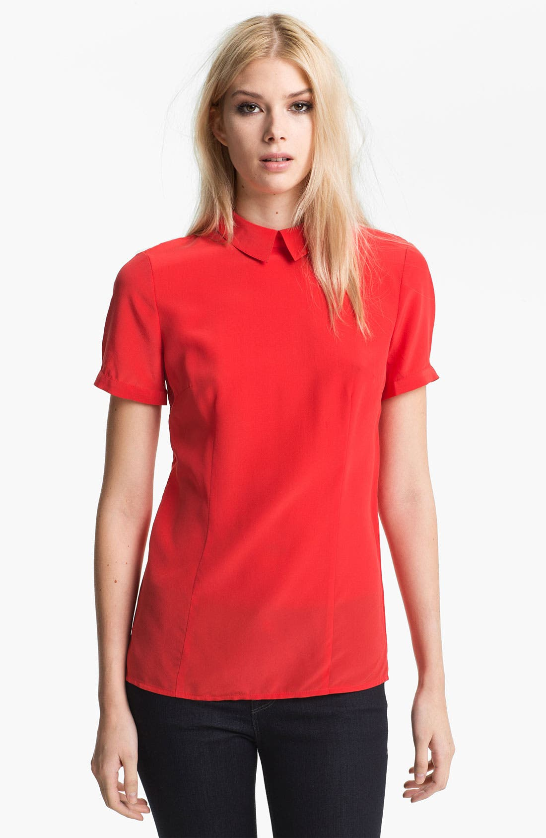 Alternate Image 1 Selected - MARC BY MARC JACOBS 'Bowery' Silk Blouse