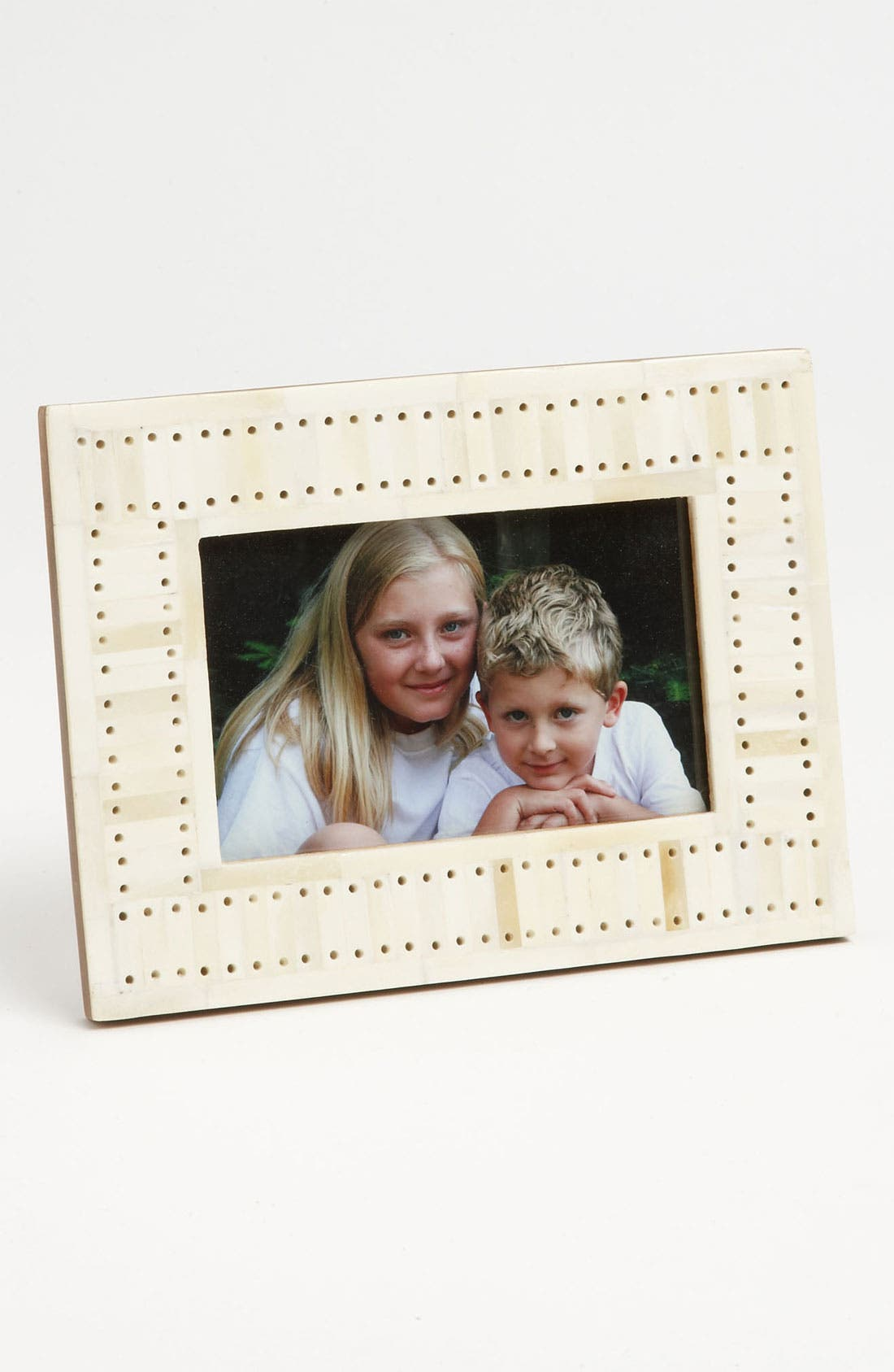 Alternate Image 1 Selected - Perforated Picture Frame (4x6)
