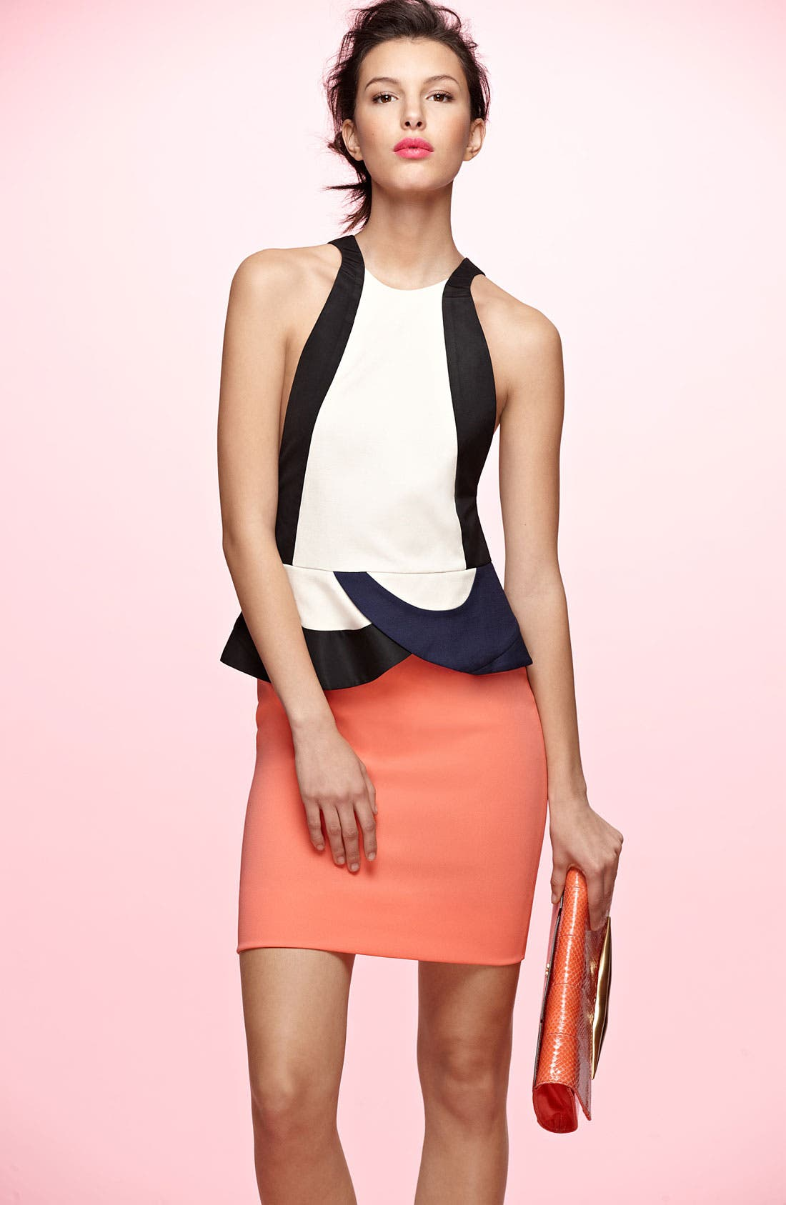 Alternate Image 5  - Diane von Furstenberg 'Eon' Peplum Sheath Dress
