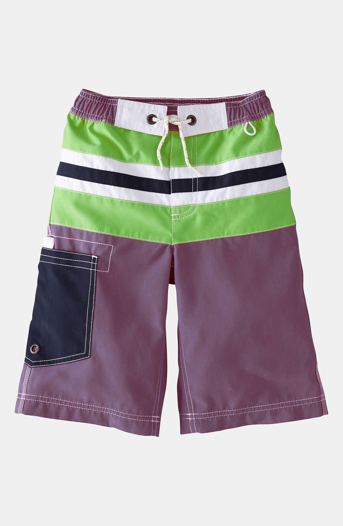 Alternate Image 1 Selected - Mini Boden 'Surf' Shorts (Little Boys & Big Boys)