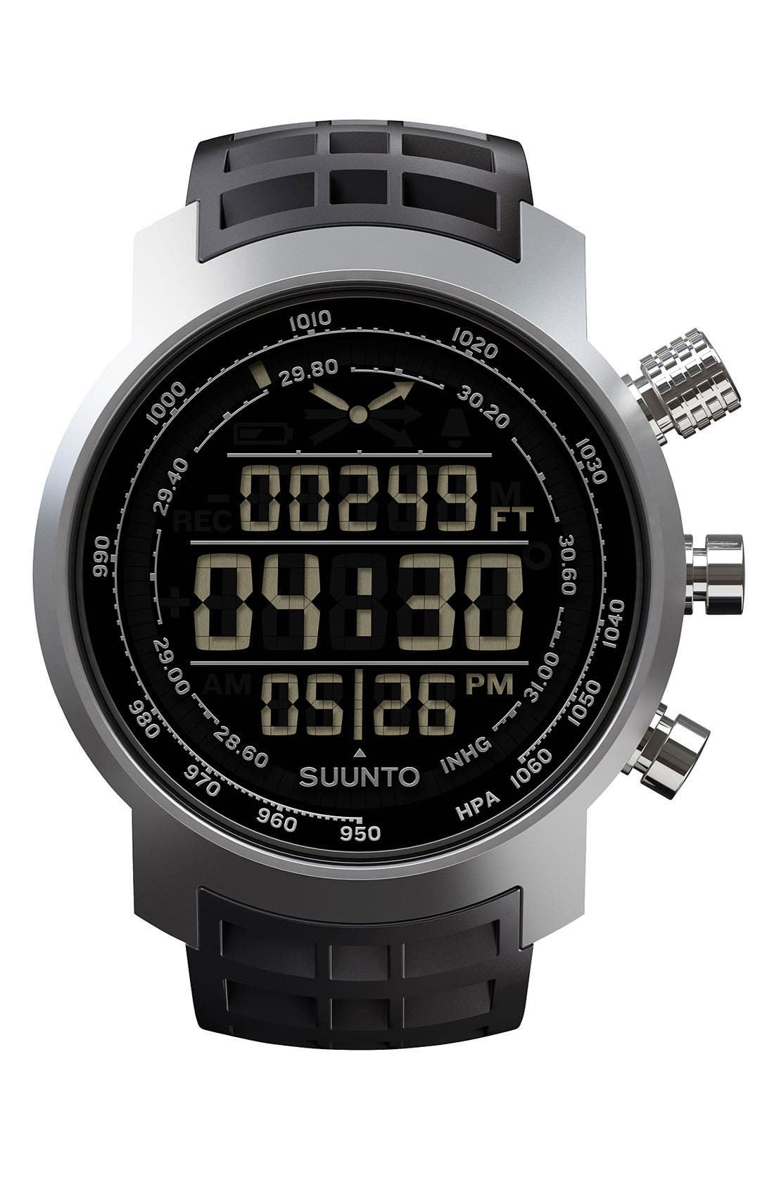 Main Image - Suunto 'Terra' Rubber Strap Watch, 44mm