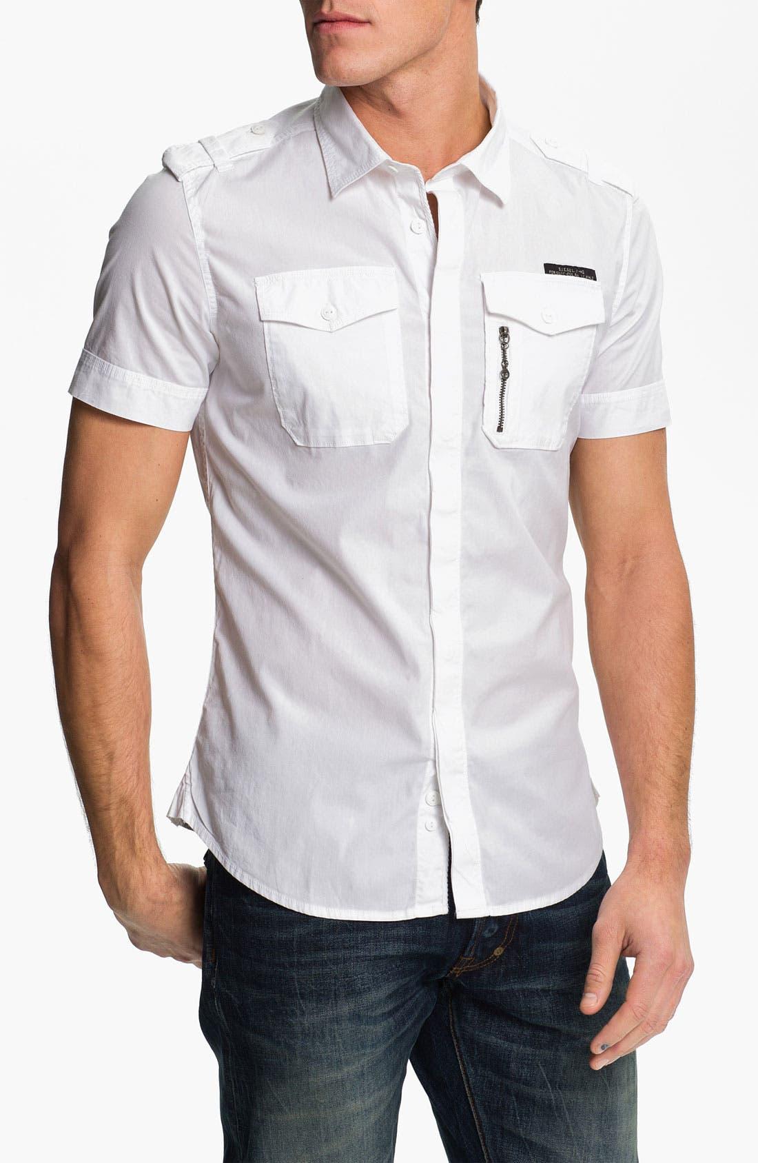 Alternate Image 1 Selected - DIESEL® 'Stombol' Woven Shirt