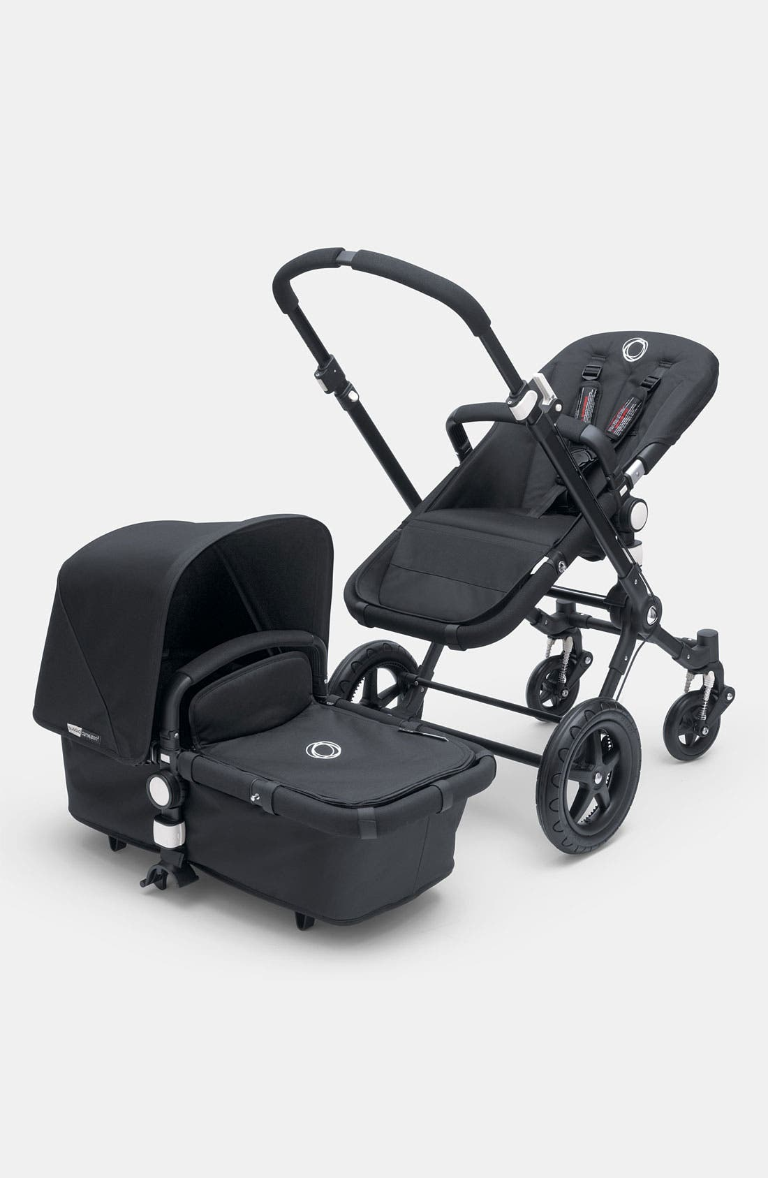 Alternate Image 1 Selected - Bugaboo 'Cameleon³' Stroller - All Black Frame with Fabric Set (Special Edition)