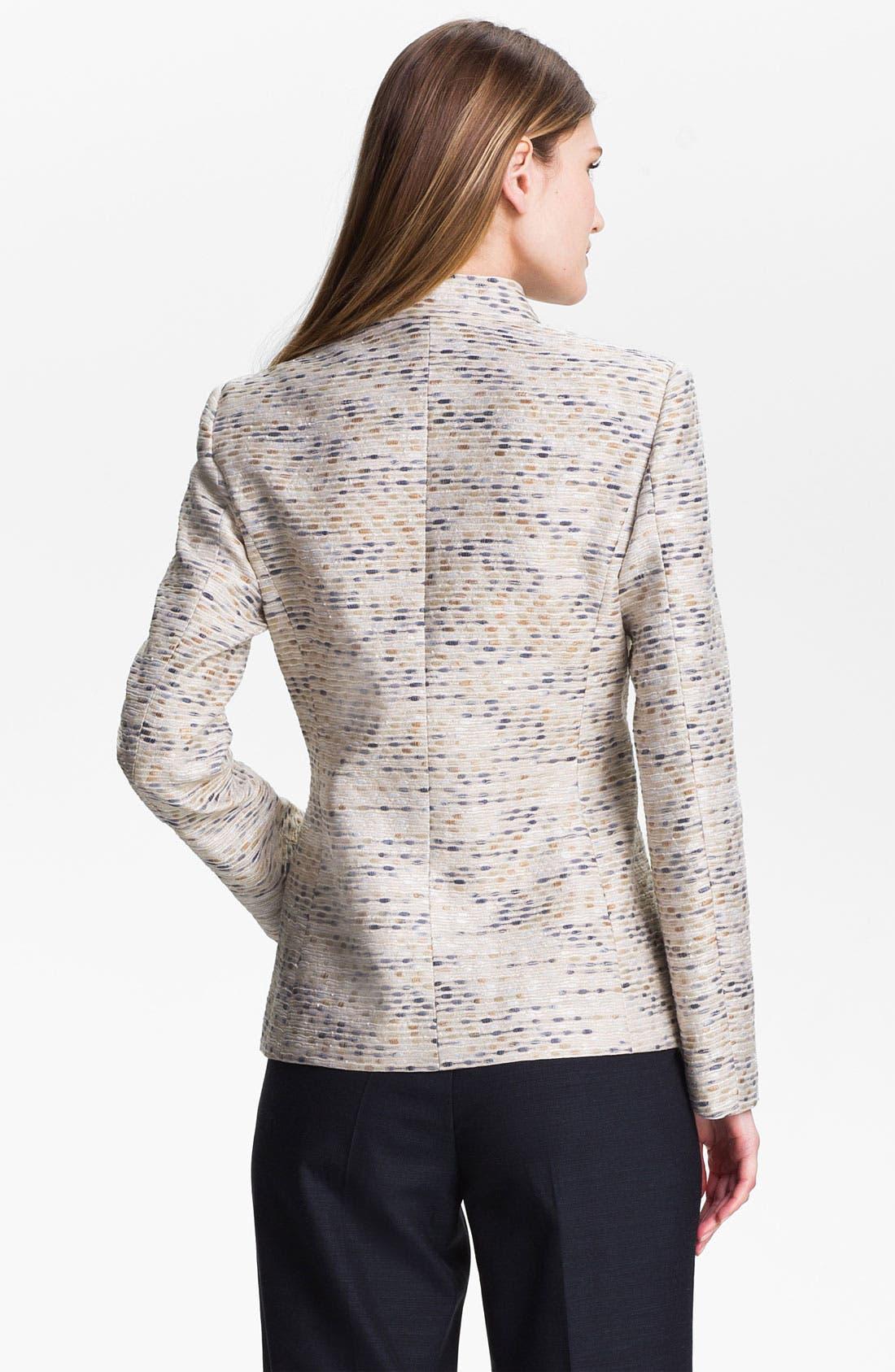 Alternate Image 2  - Santorelli Abstract Tweed Jacket