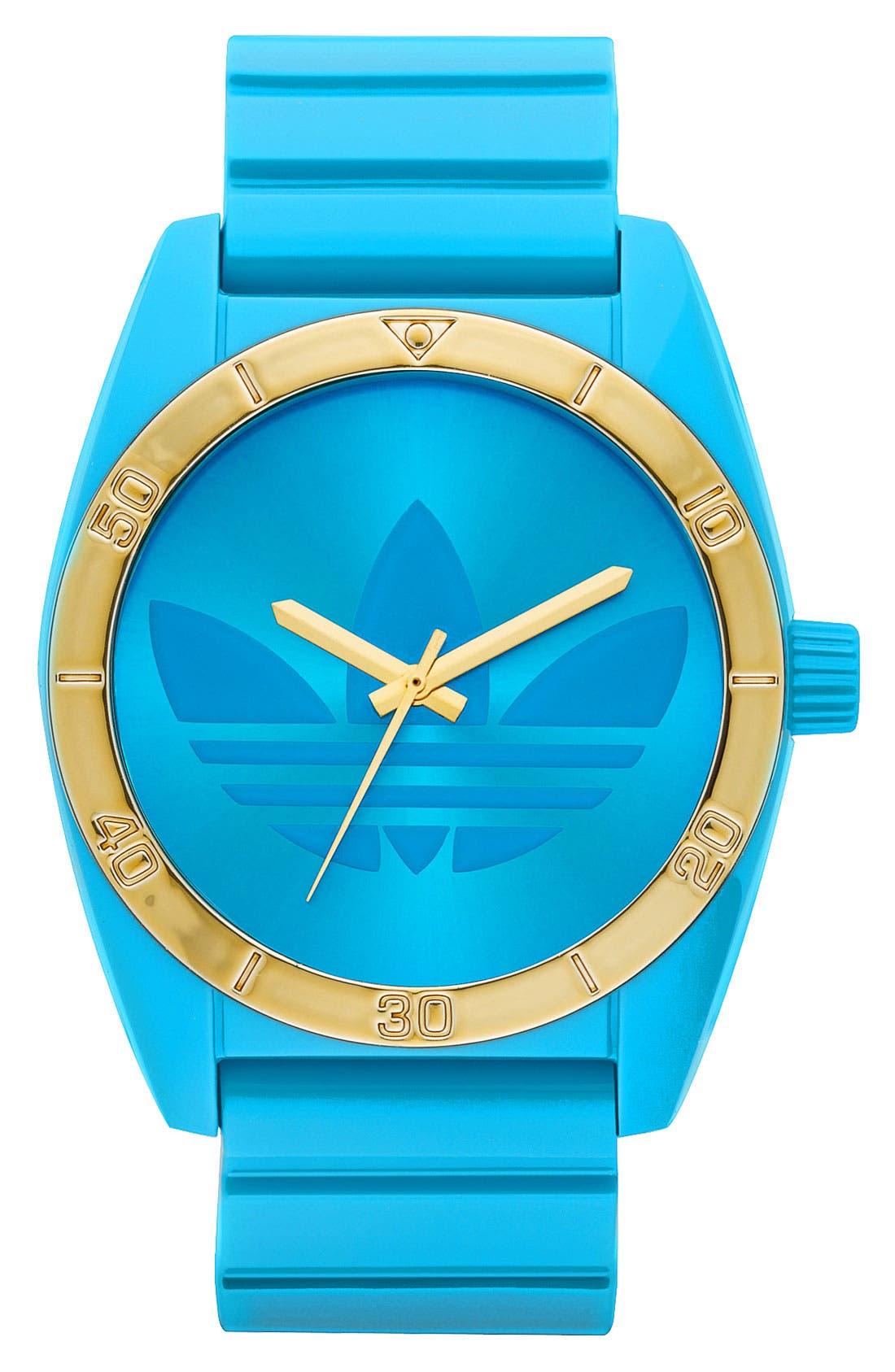 Alternate Image 1 Selected - adidas Originals 'Santiago' Neon Watch, 42mm