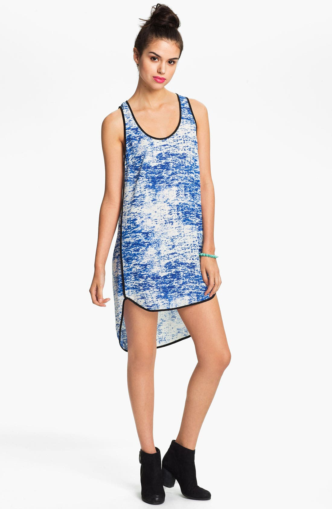 Alternate Image 1 Selected - Print High/Low Tank Dress