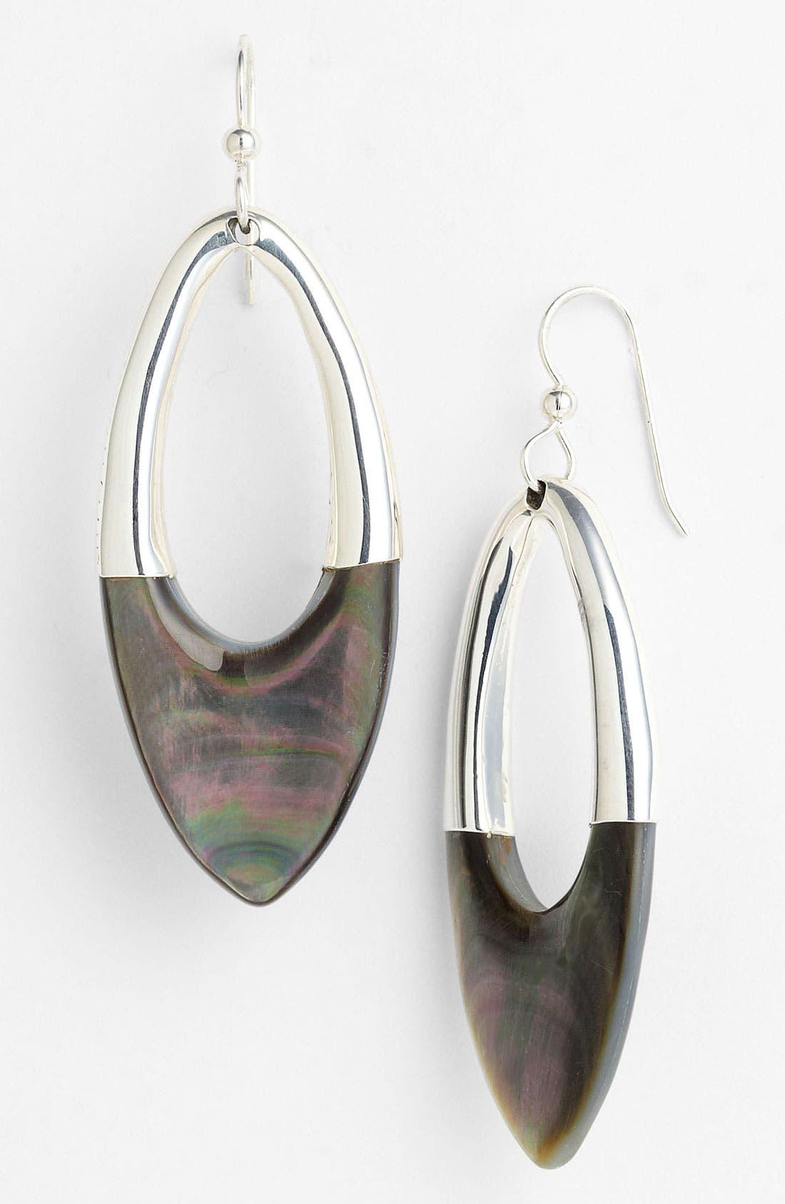 Alternate Image 1 Selected - Simon Sebbag 'Tahiti' Frontal Oval Hoop Earrings