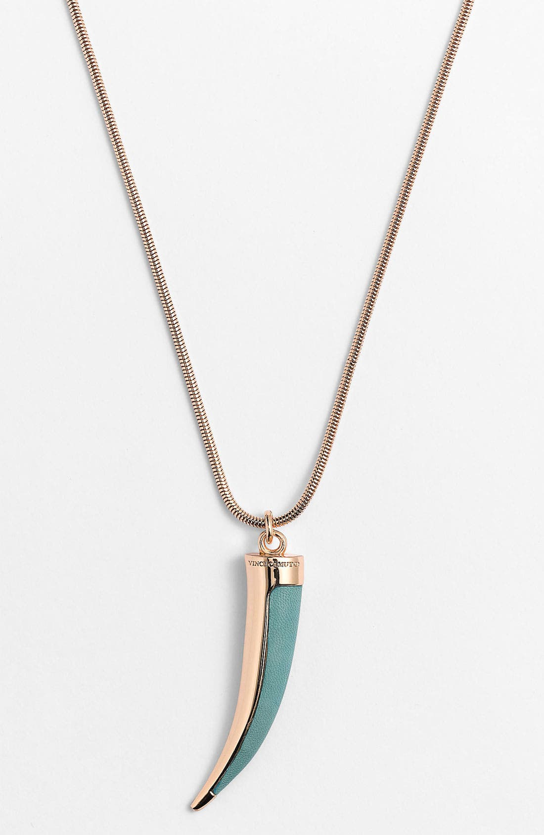 Pendant Necklace,                         Main,                         color, Sweet Mint/ Gold
