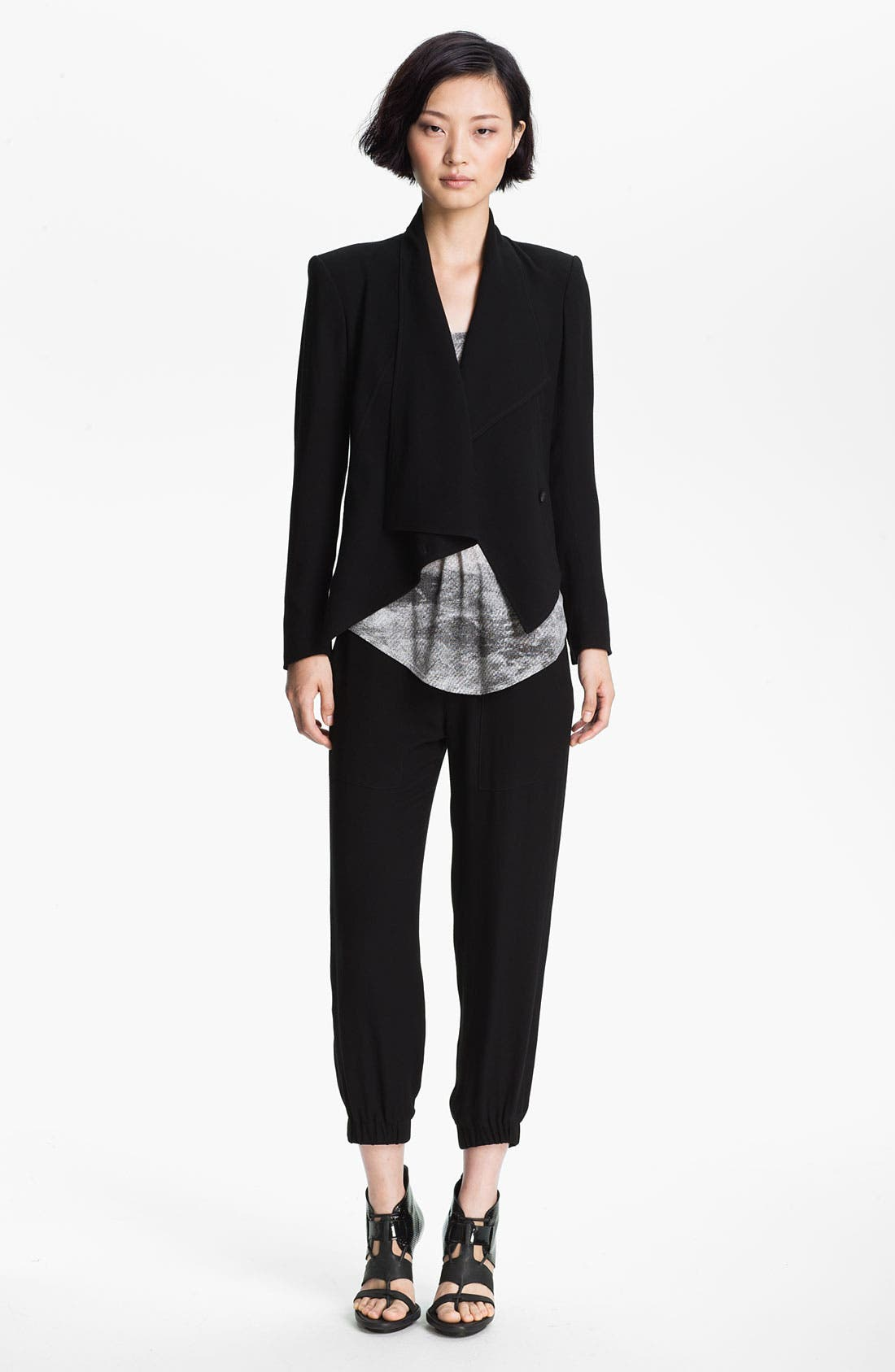 Alternate Image 3  - HELMUT Helmut Lang 'Flash' Draped Blazer