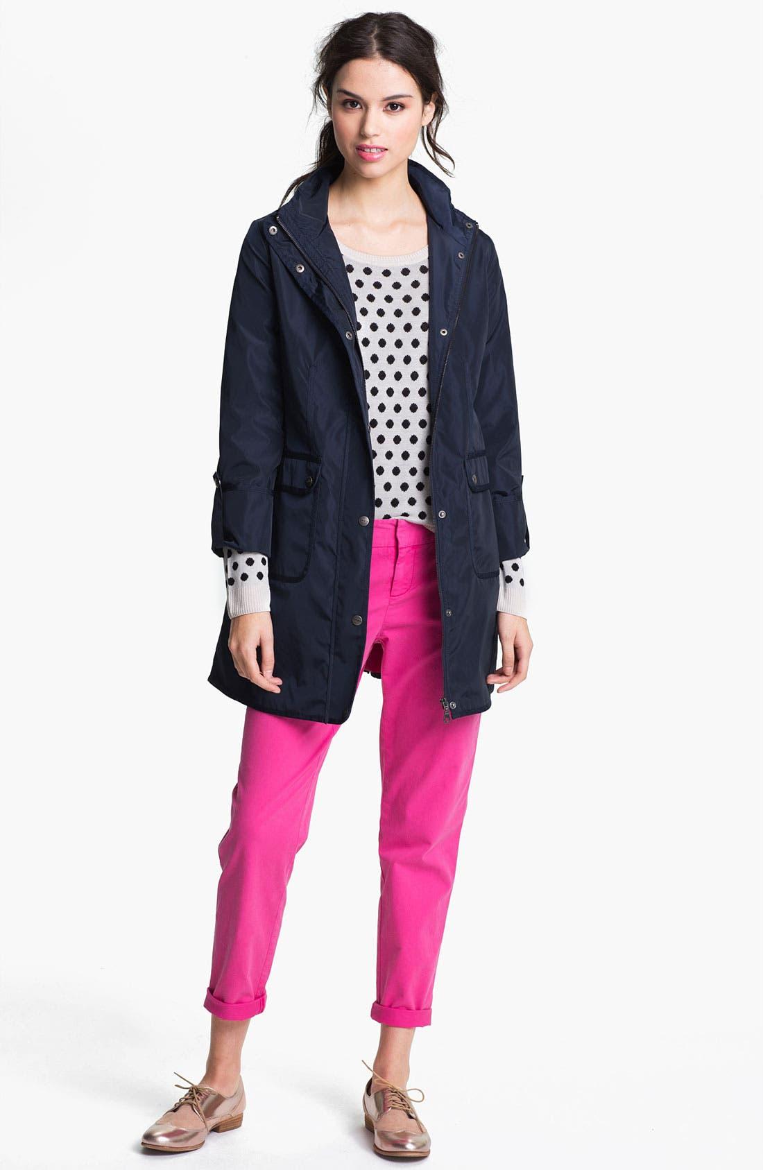Alternate Image 4  - DKNY Anorak with Detachable Split Hood