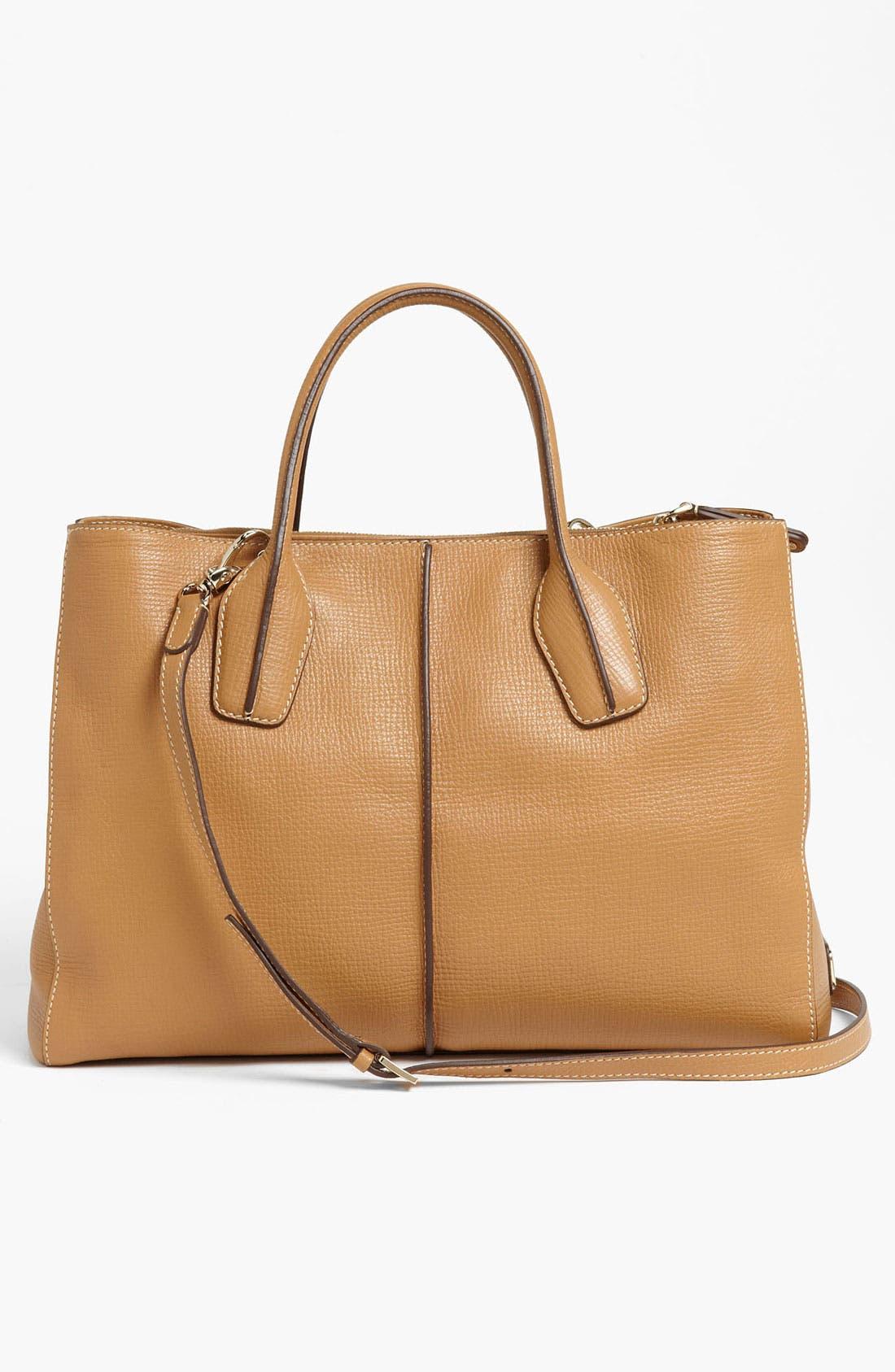 Alternate Image 4  - Tod's 'D-Styling - Medium' Leather Shopper
