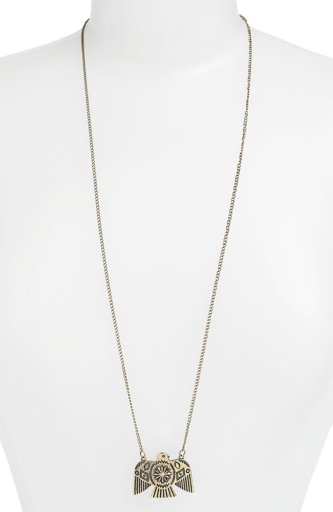 Alternate Image 1 Selected - Devan Eagle Pendant Necklace