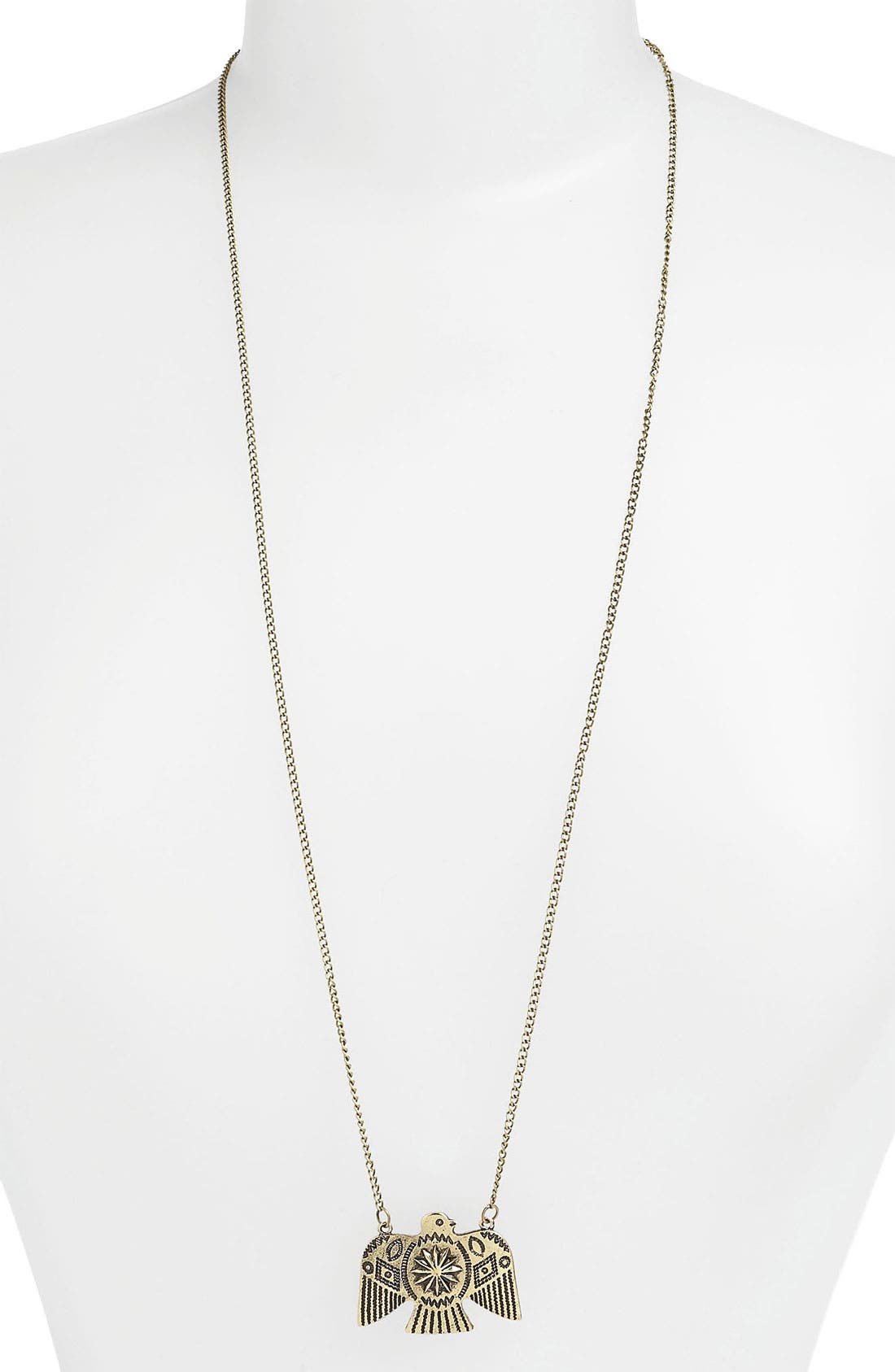 Main Image - Devan Eagle Pendant Necklace