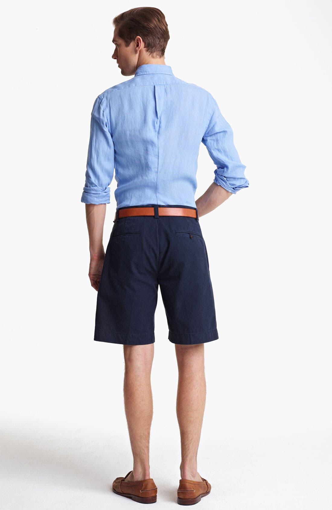 Alternate Image 5  - Polo Ralph Lauren Custom Fit Sport Shirt