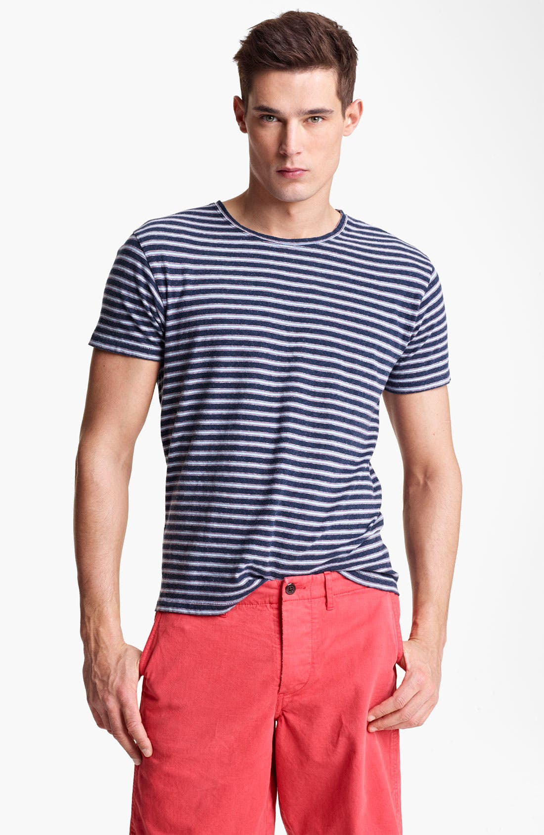 Main Image - Todd Snyder Classic Stripe T-Shirt